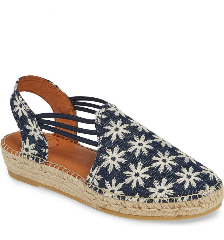 3befedee055c4d Toni Pons Noa Embroidered Espadrille Sandal (Women)