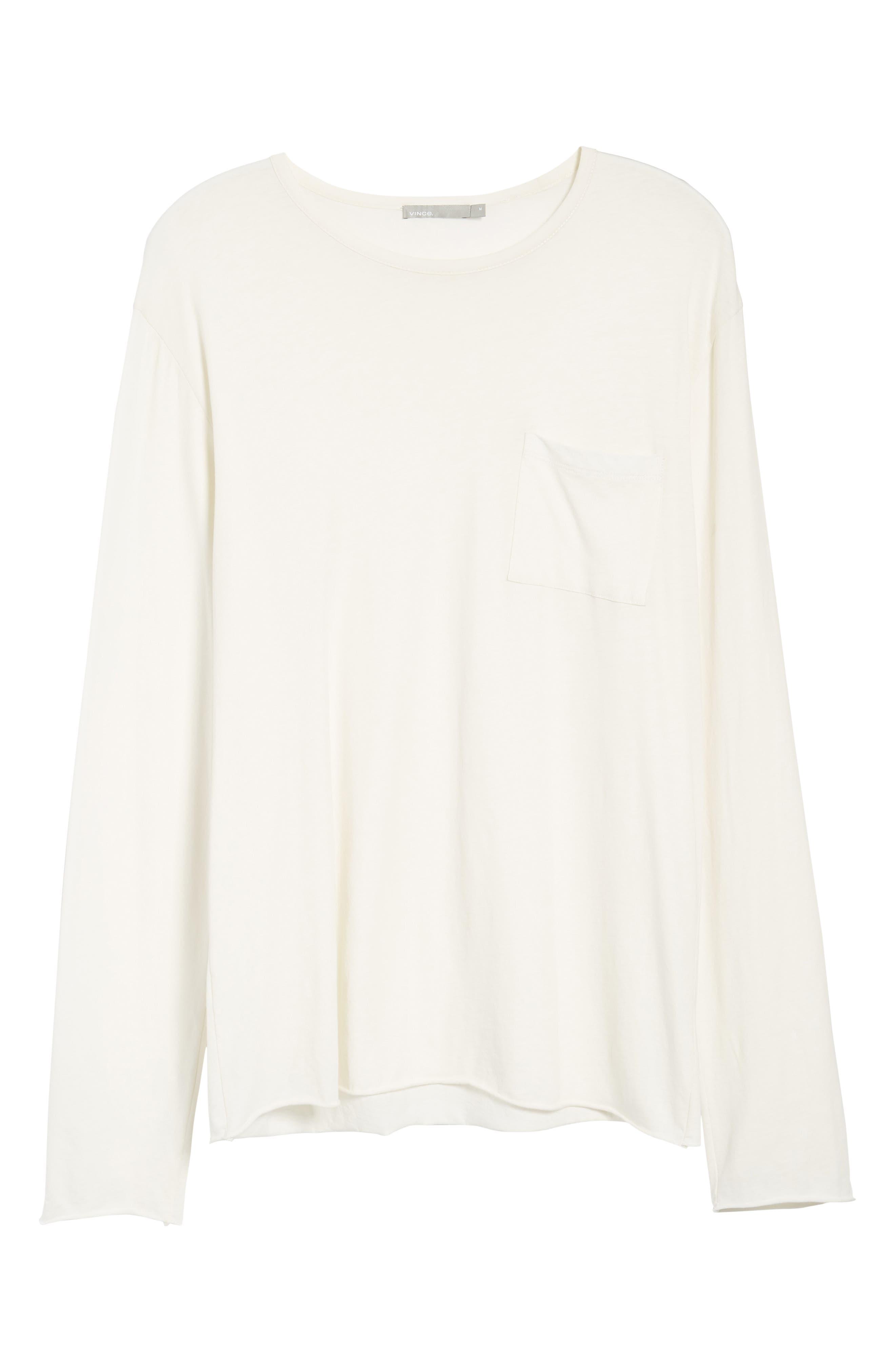 Slim Fit Stripe Pocket T-Shirt,                             Alternate thumbnail 22, color,