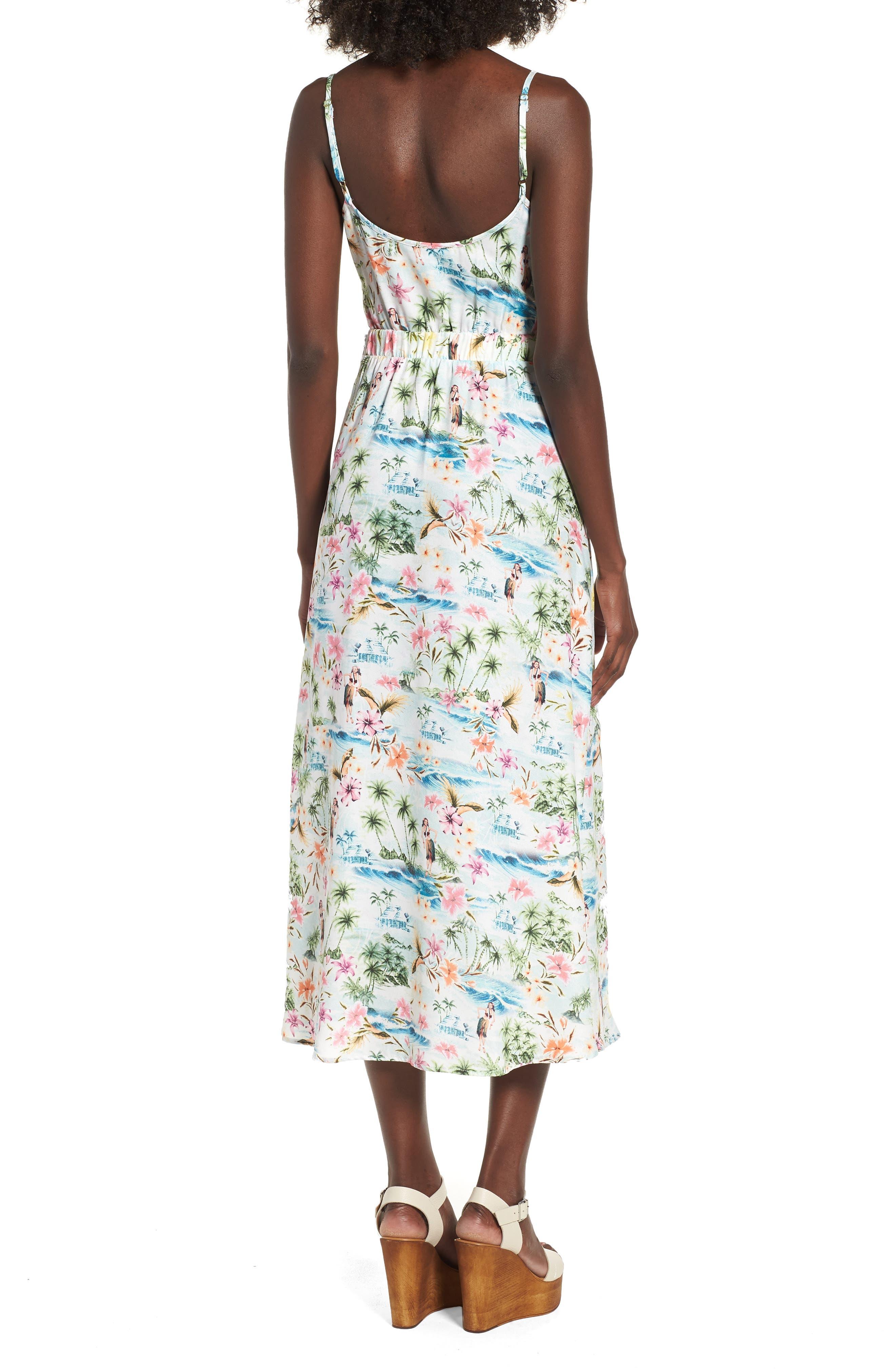 Moby Tie Maxi Dress,                             Alternate thumbnail 2, color,                             100