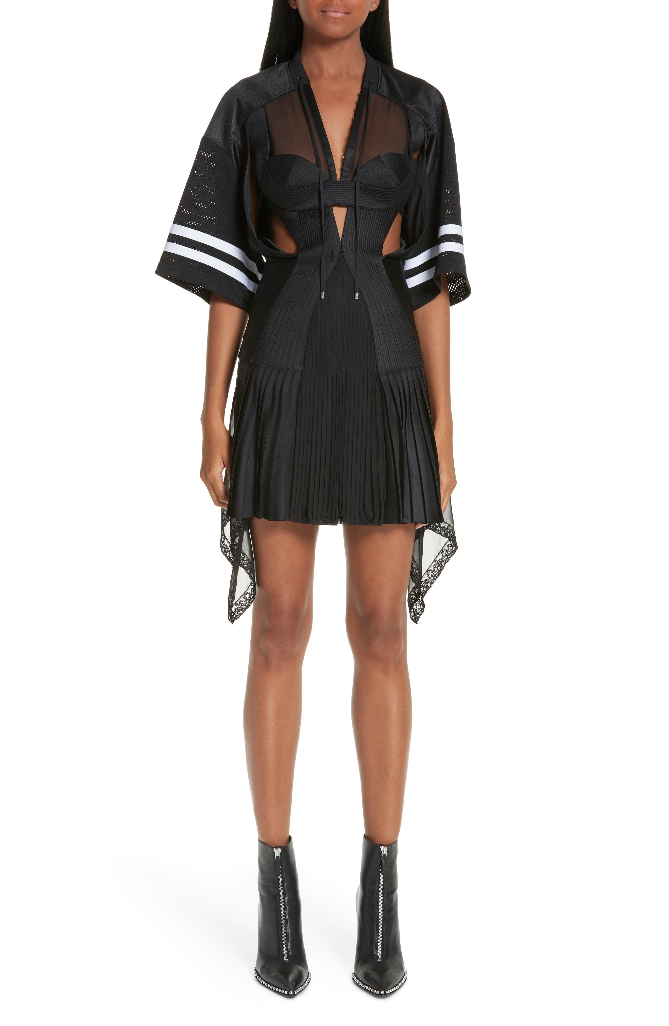 Alexander Wang Football Jersey Dress