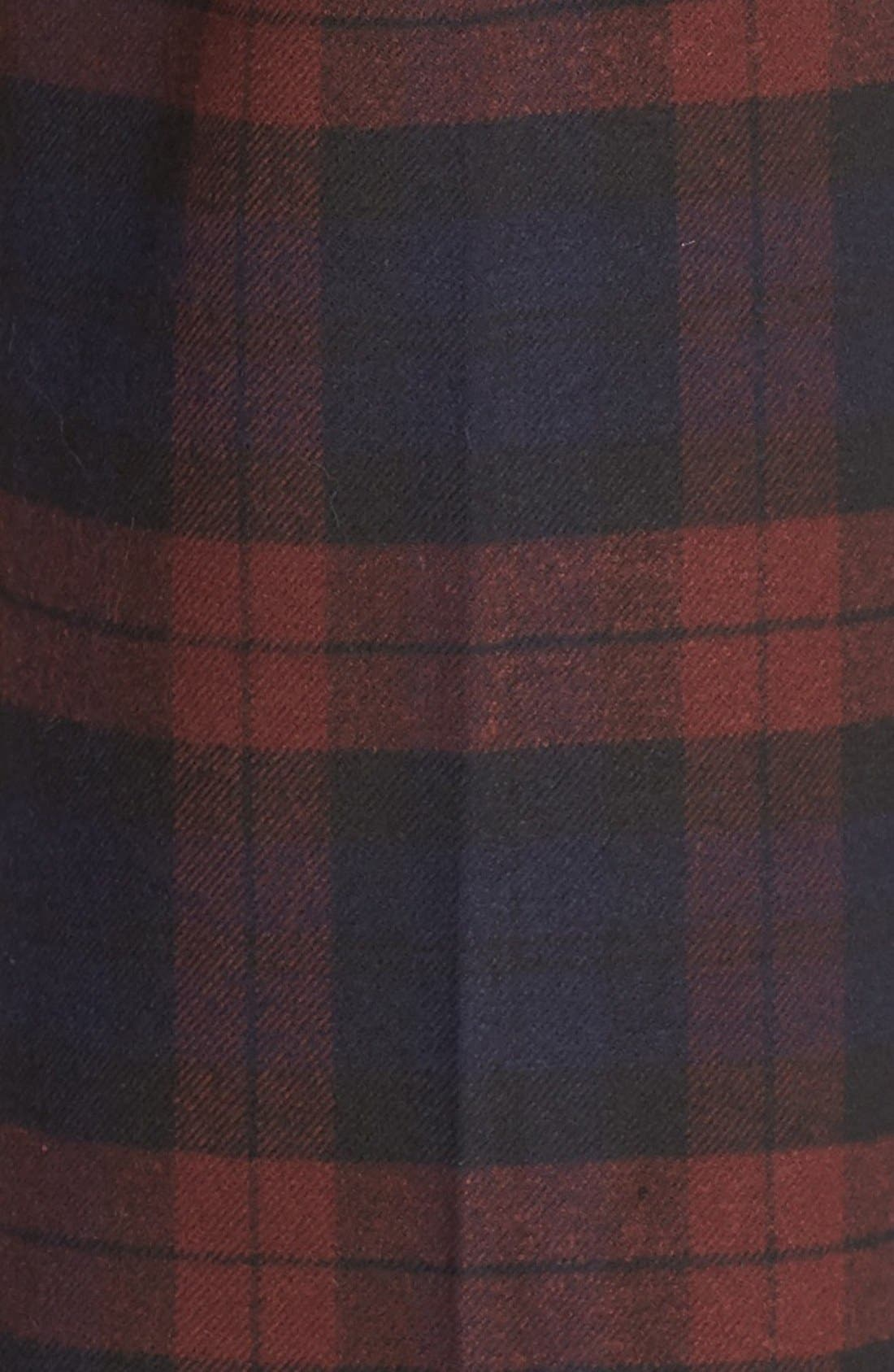 Plaid Flannel Pants,                             Alternate thumbnail 6, color,                             400
