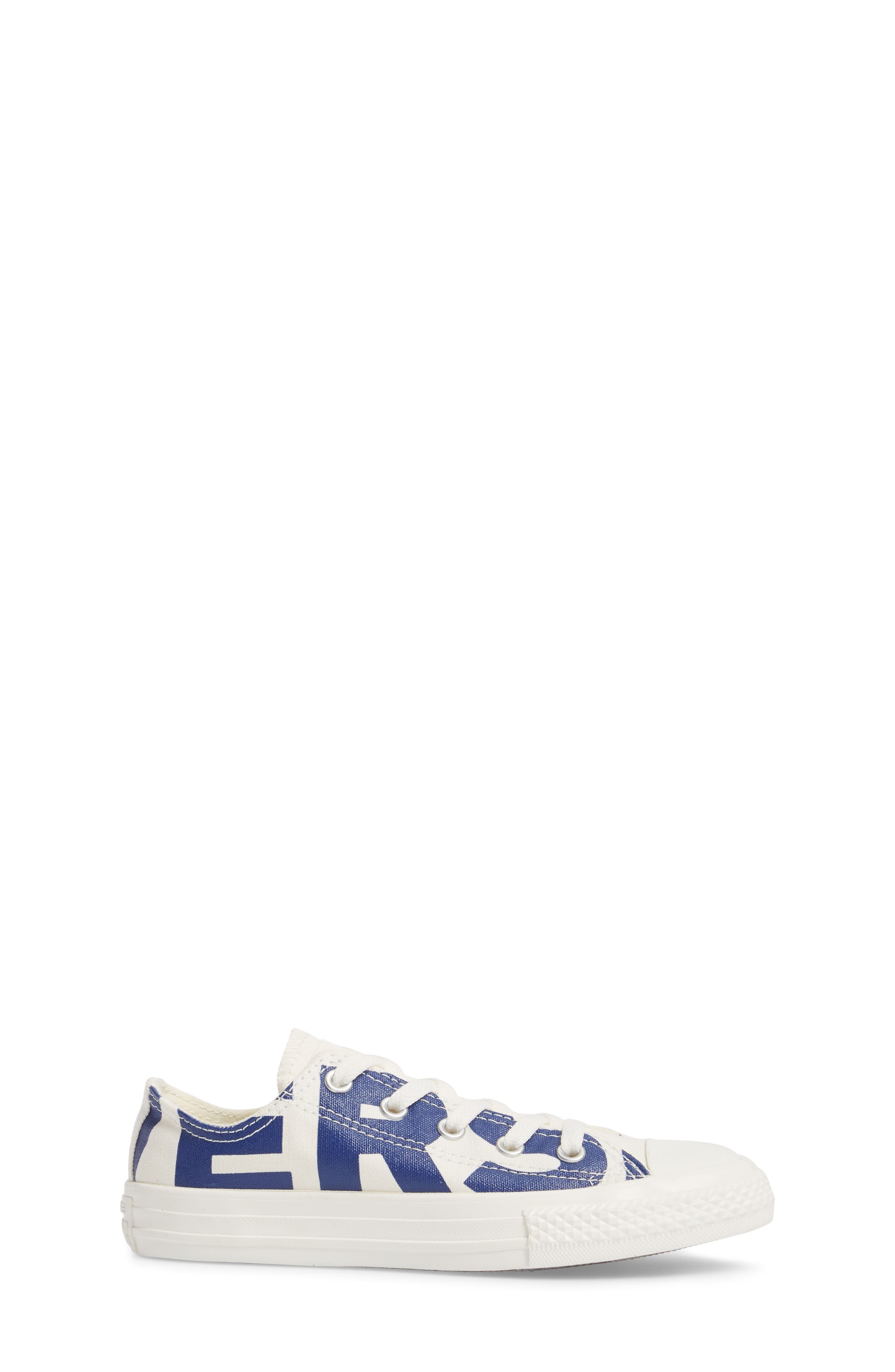 All Star<sup>®</sup> Wordmark OX Low Top Sneaker,                             Alternate thumbnail 3, color,                             400