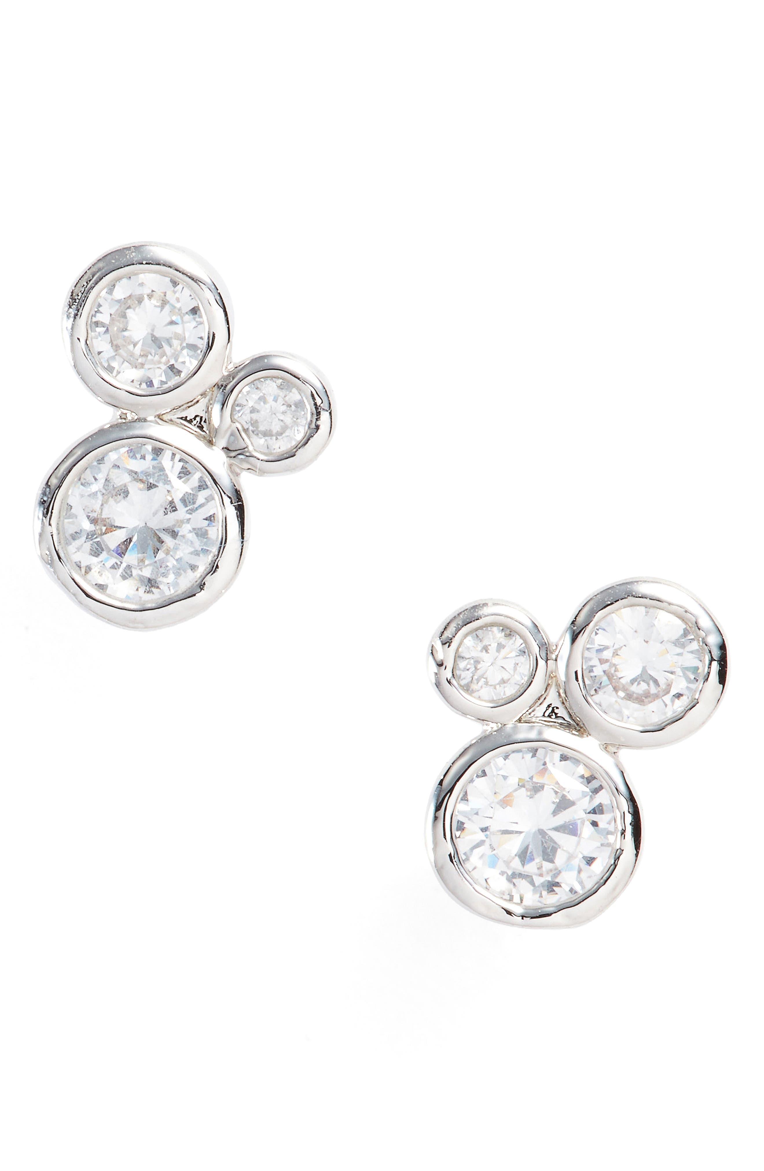 Jasmine Stud Earrings,                             Main thumbnail 1, color,                             040