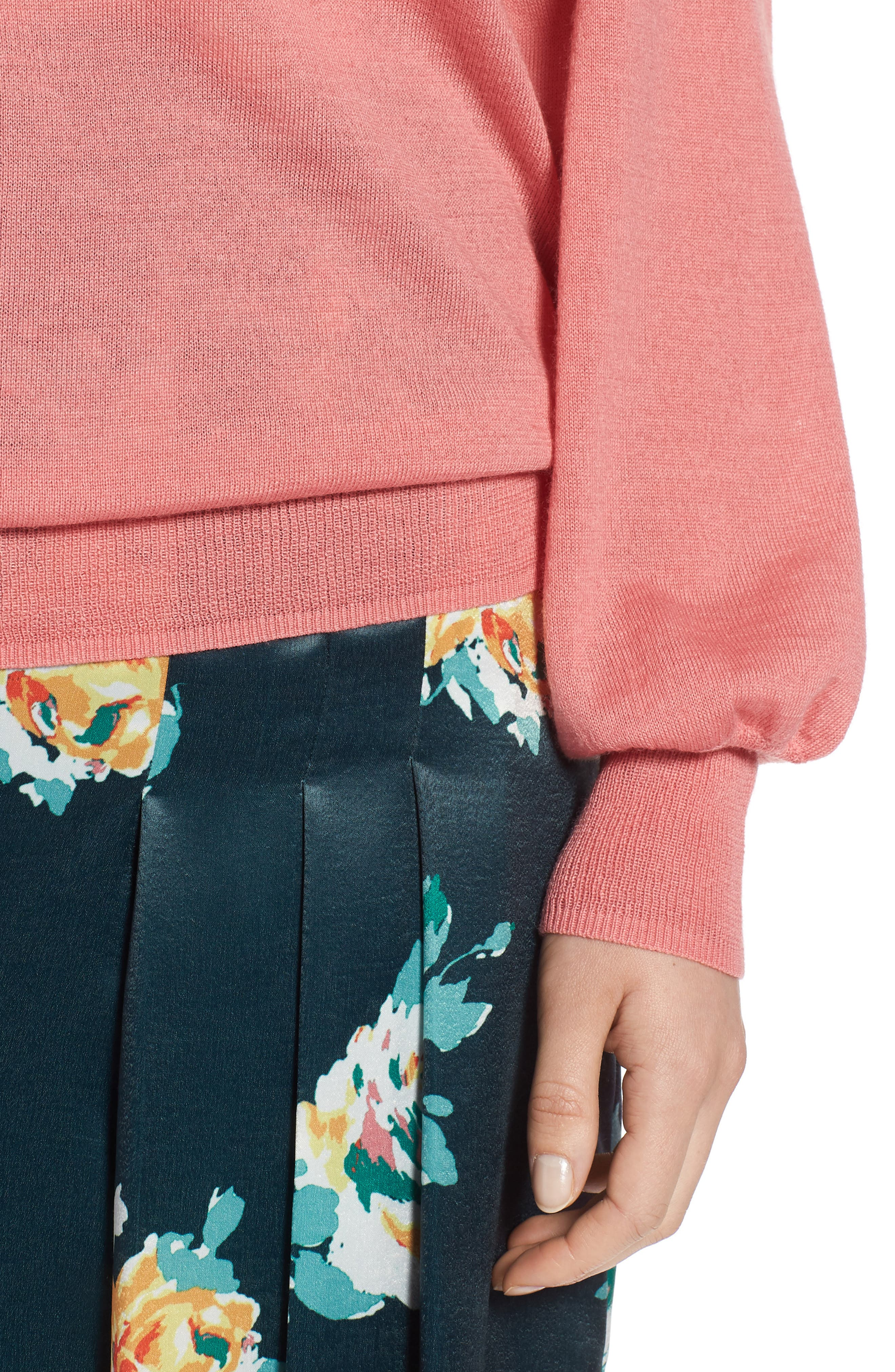 Puff Sleeve Sweater,                             Alternate thumbnail 31, color,