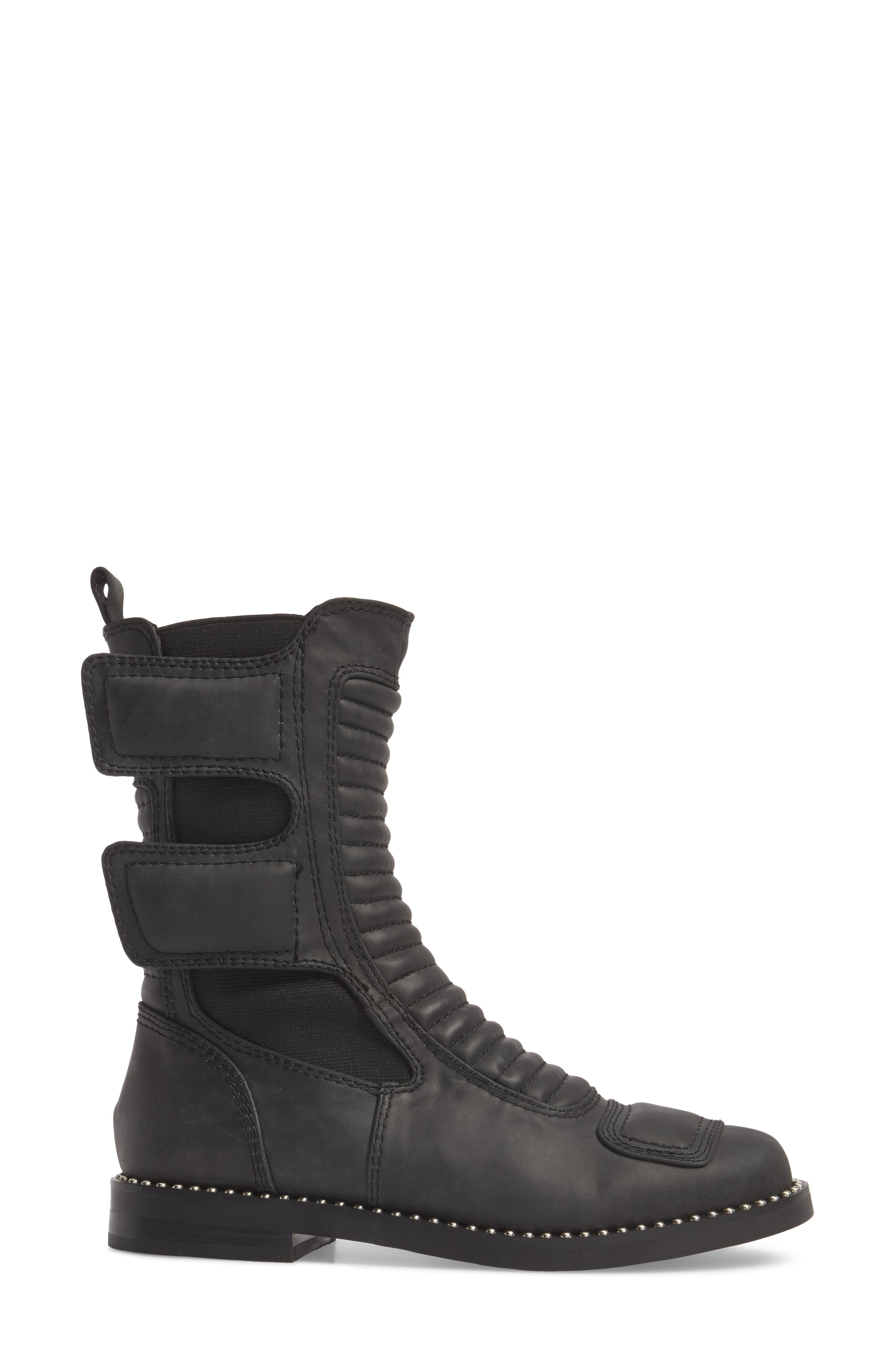 Police Boot,                             Alternate thumbnail 3, color,                             001