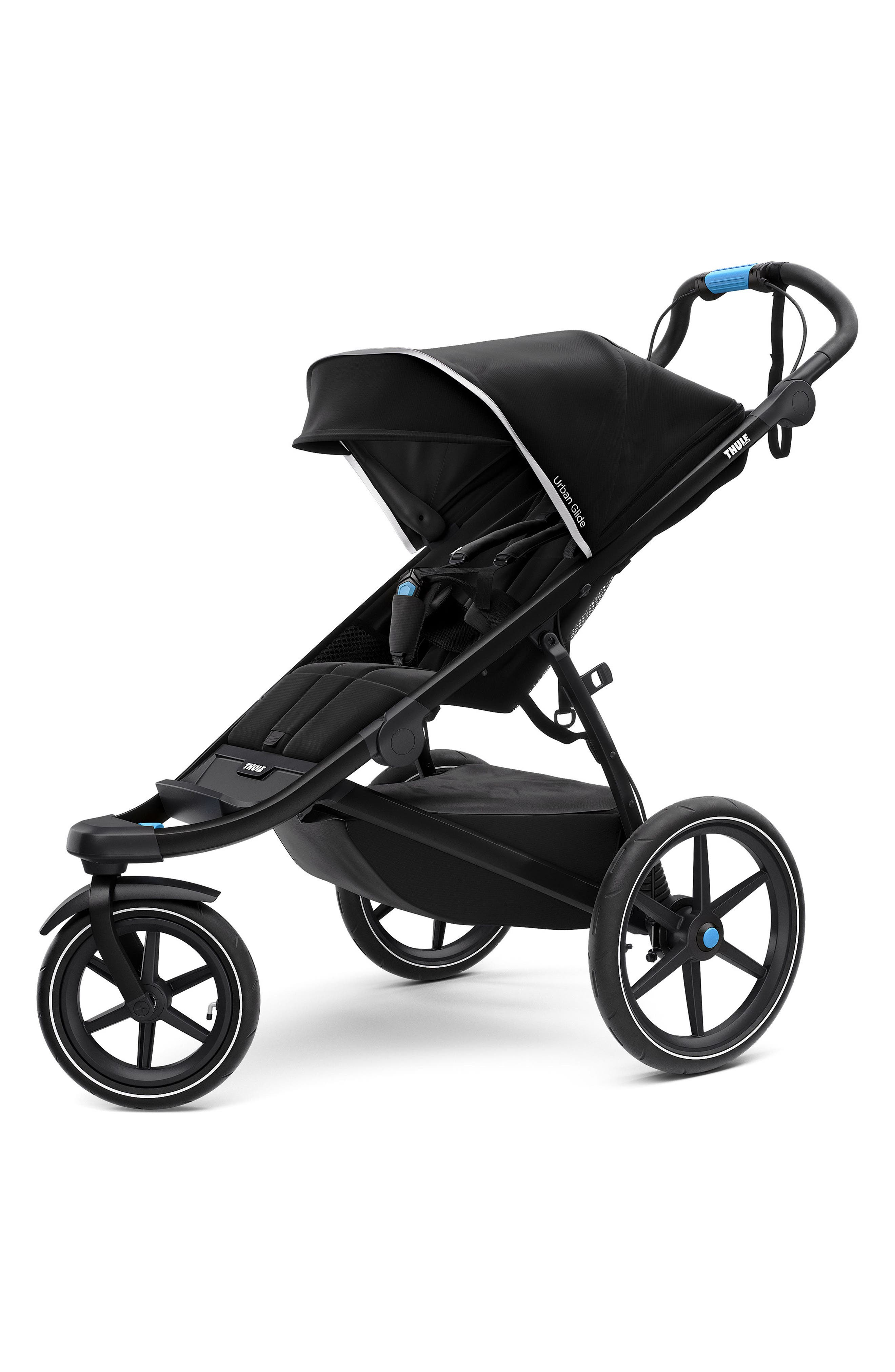 Urban Glide 2 On-the-Go Stroller Bundle,                             Main thumbnail 1, color,                             BLACK/ BLACK