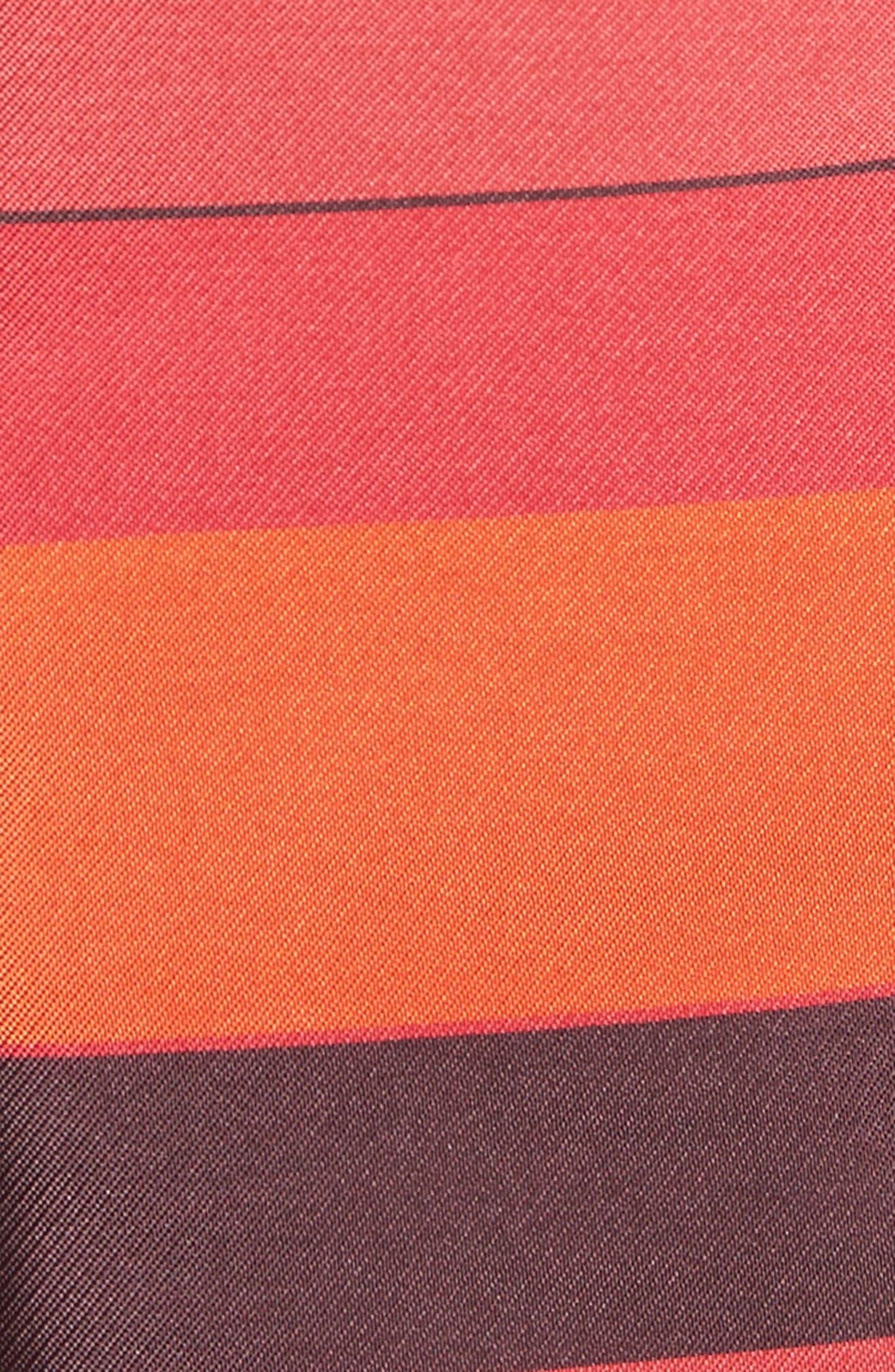 Metallic Stripe Jacquard Jacket,                             Alternate thumbnail 7, color,                             SIENNA MULTI