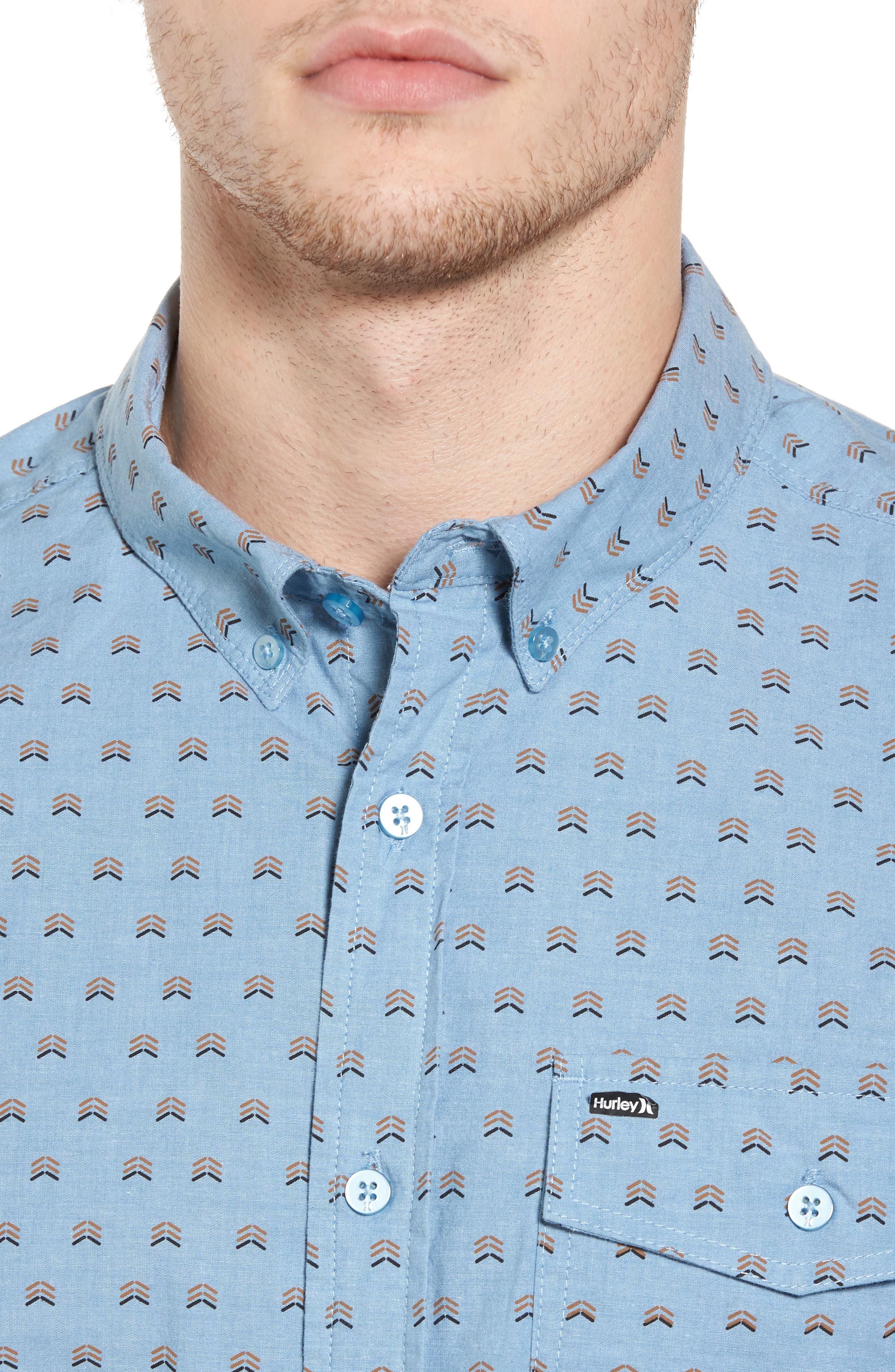 Brooks Woven Shirt,                             Alternate thumbnail 12, color,