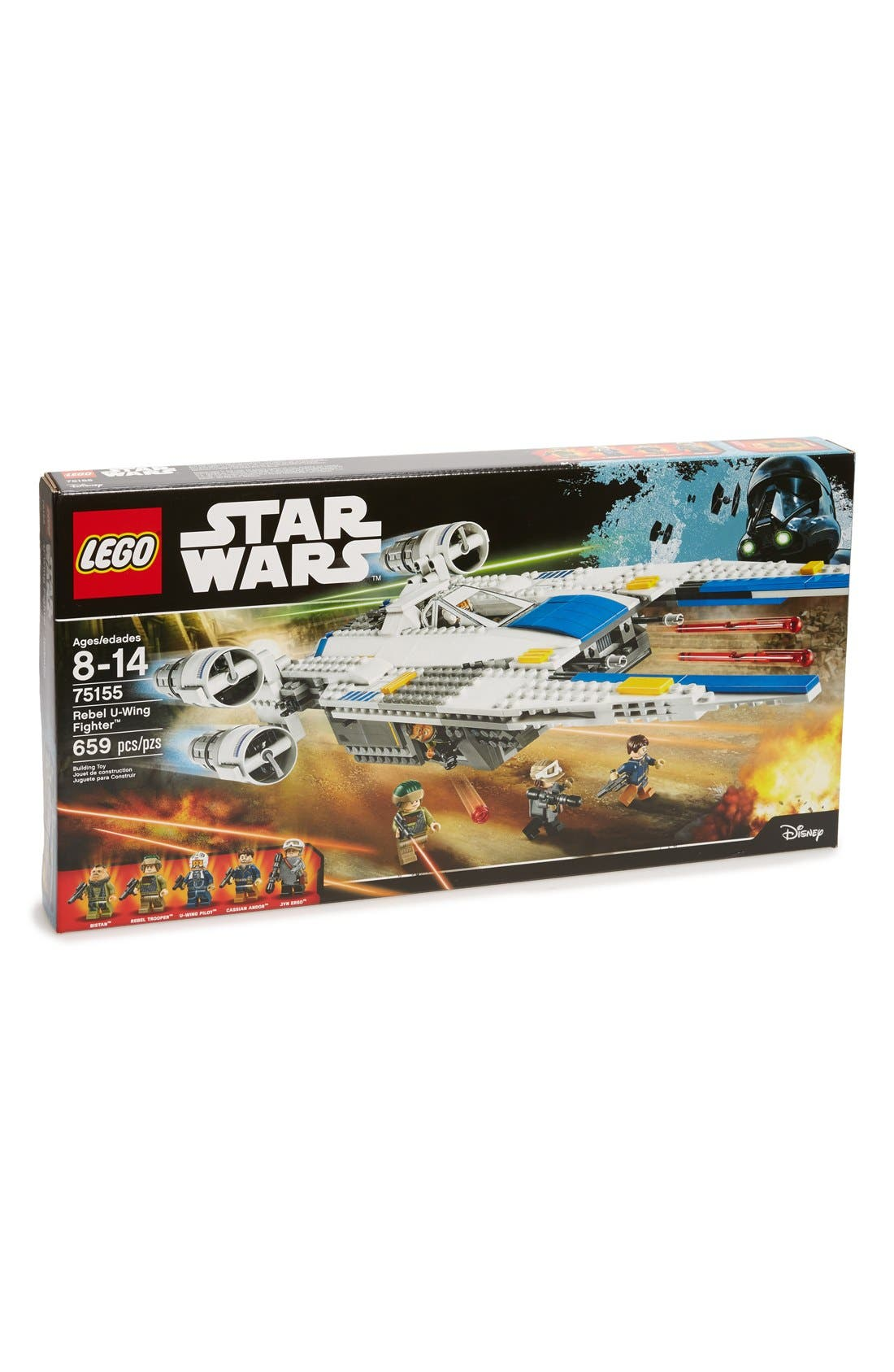 Star Wars<sup>™</sup> Rebel U-Wing Fighter<sup>™</sup> - 75155,                             Main thumbnail 1, color,