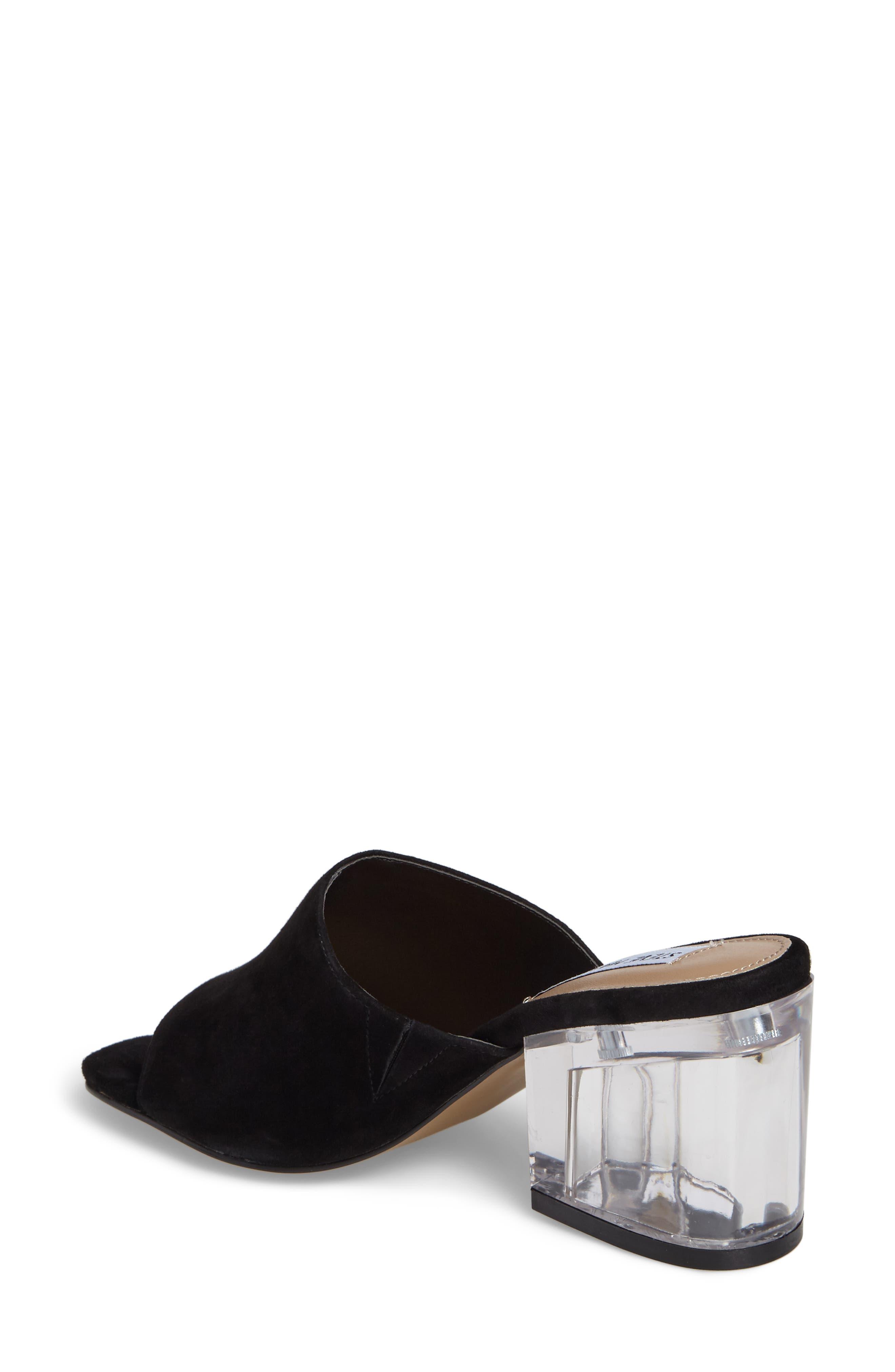Dalis Clear Heel Slide Sandal,                             Alternate thumbnail 2, color,                             006