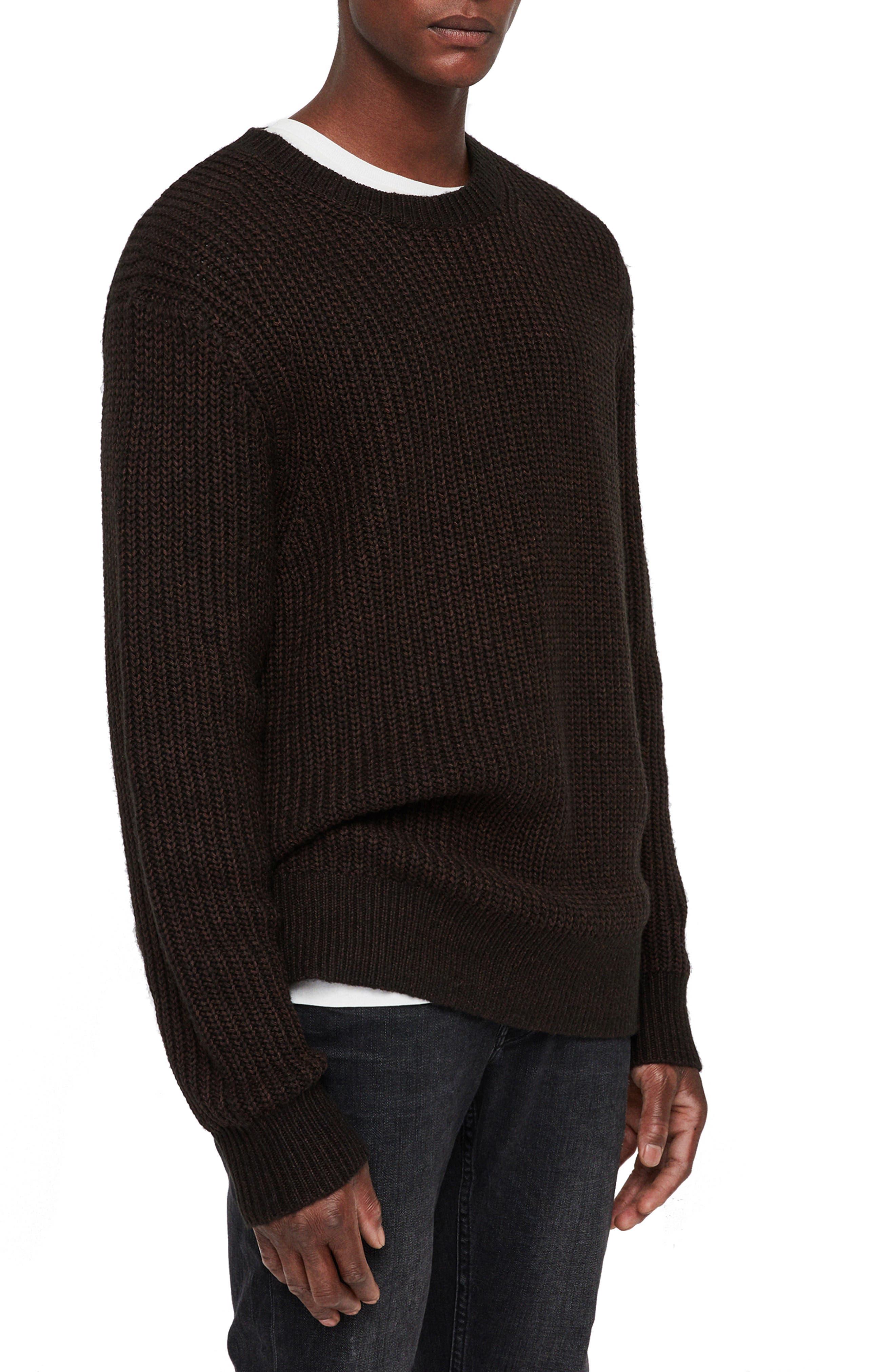 Tilman Regular Fit Sweater,                             Alternate thumbnail 3, color,                             001