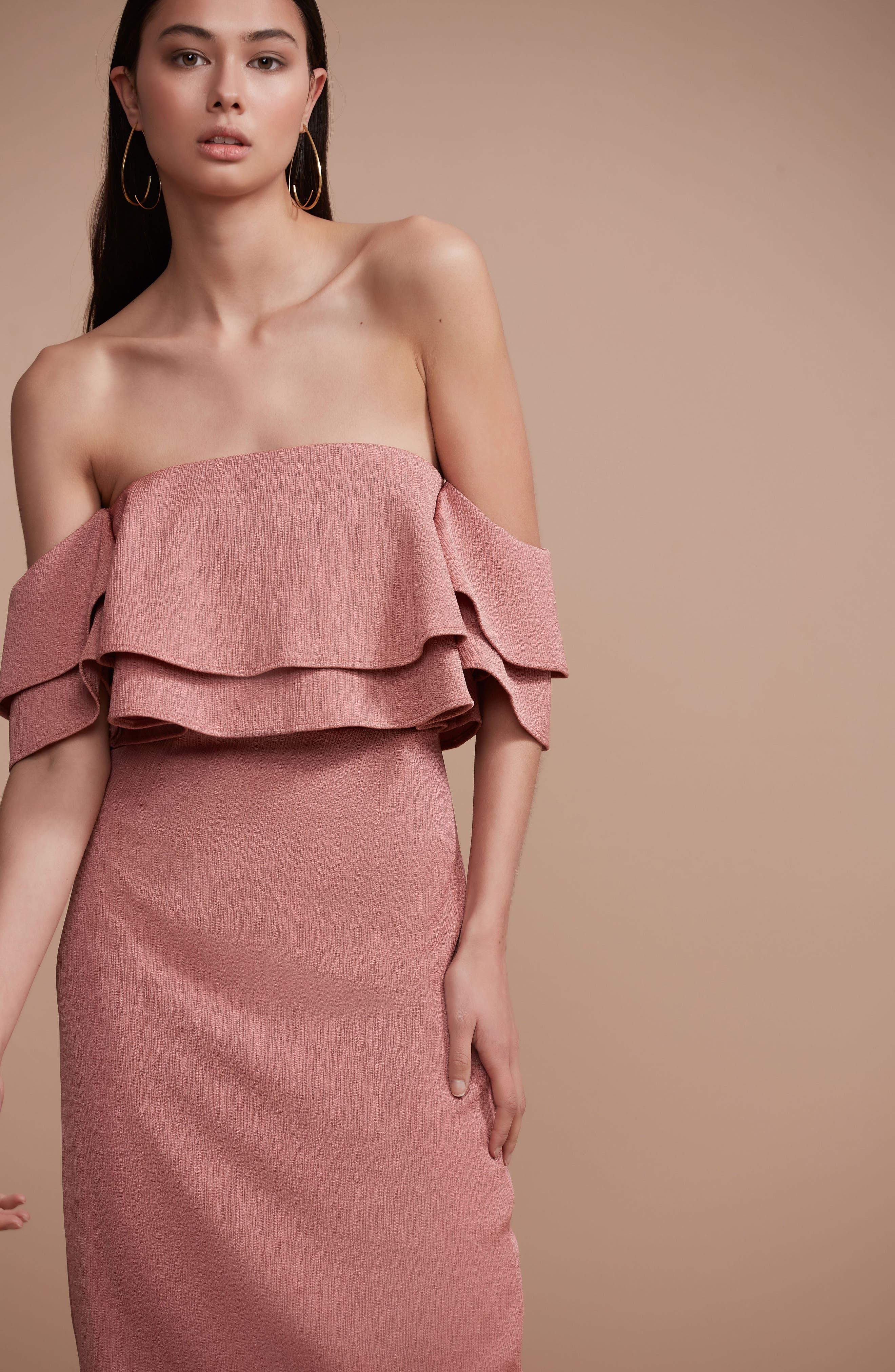 No Reason Off the Shoulder Sheath Dress,                             Alternate thumbnail 7, color,                             650