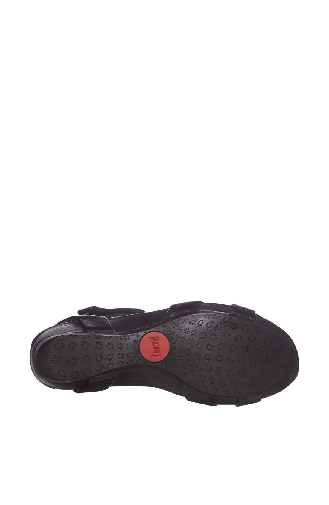 'Micro' Sandal,                             Alternate thumbnail 4, color,                             001