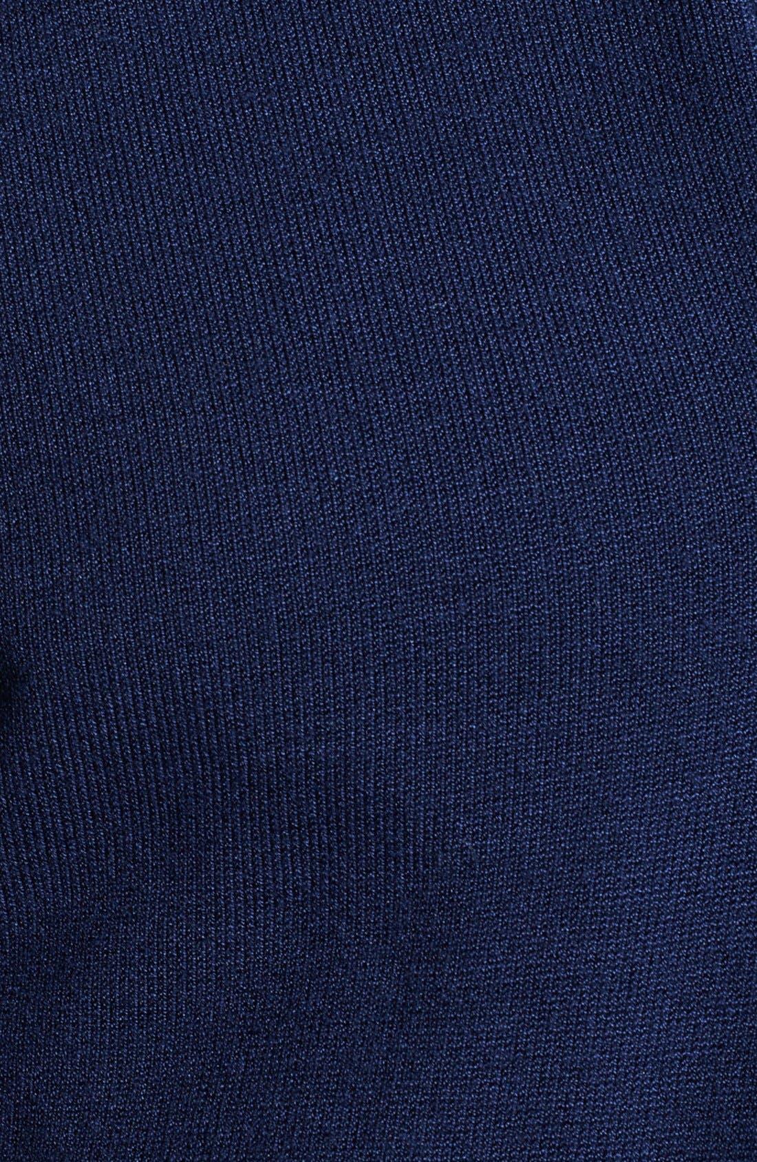 Armani Collezioni Shawl Collar Sweater,                             Alternate thumbnail 3, color,                             404