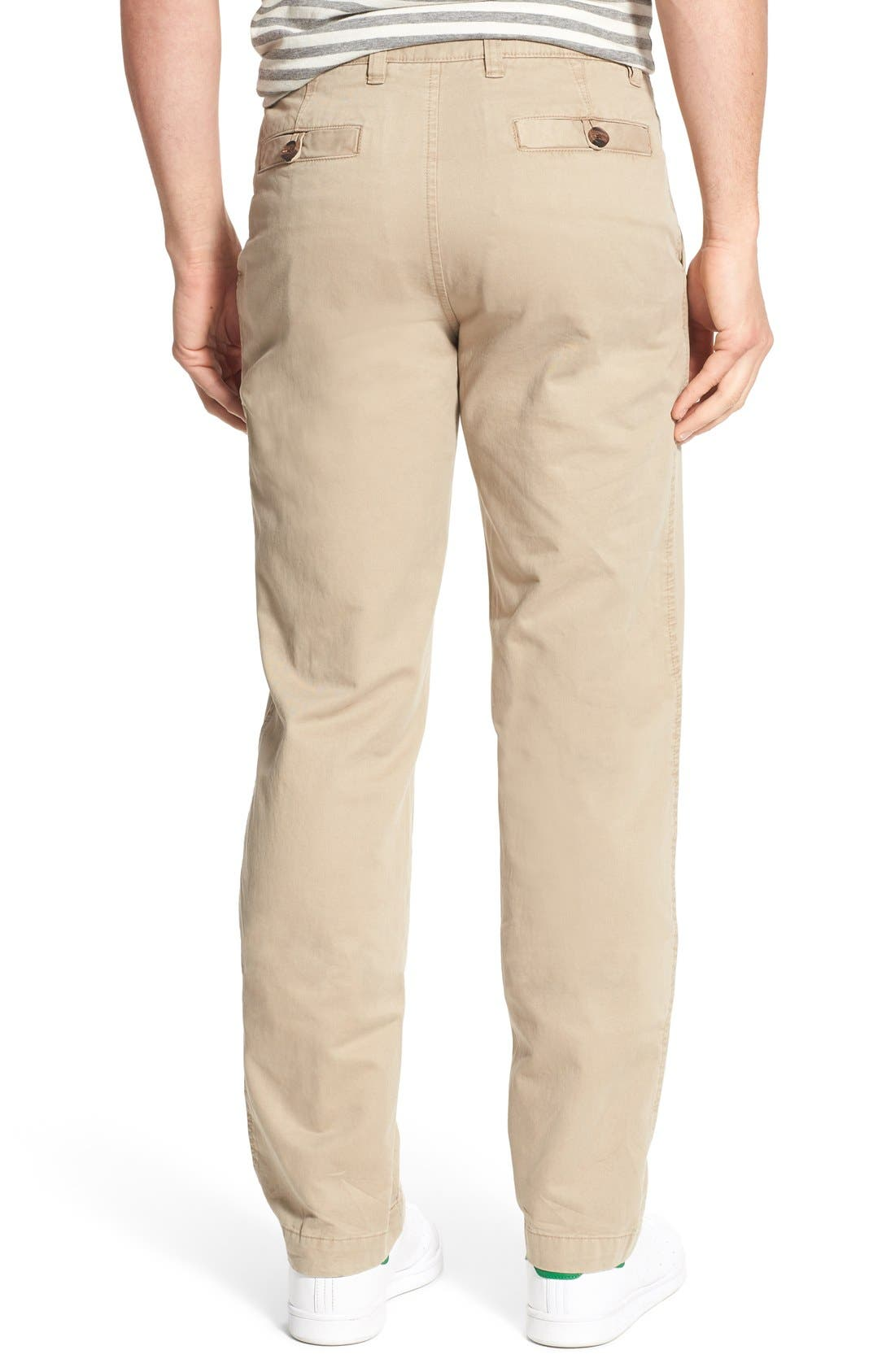 'Sahara' Trim Fit Vintage Washed Twill Chinos,                             Alternate thumbnail 13, color,