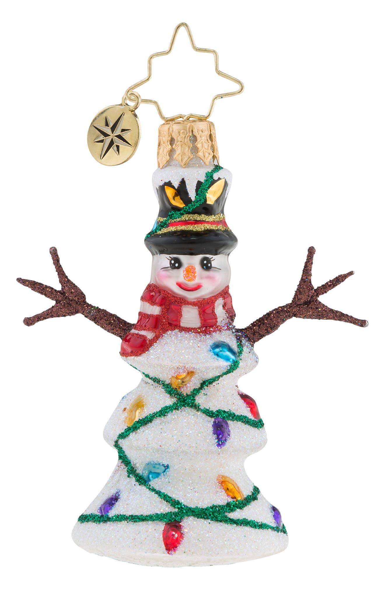 Northern Lights Ornament,                         Main,                         color, WHITE MULTI