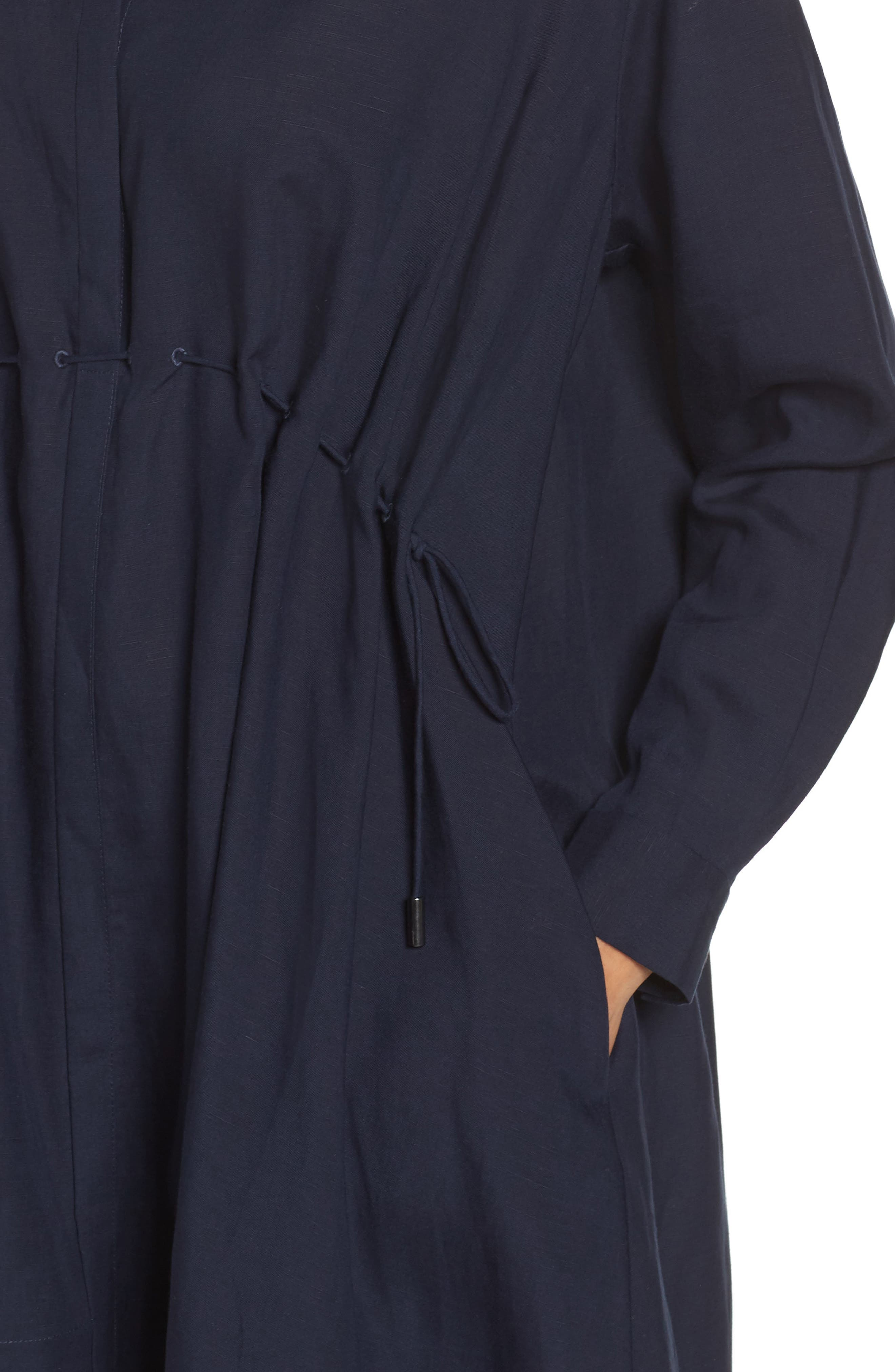 Ellesmere Drape Shirtdress,                             Alternate thumbnail 4, color,