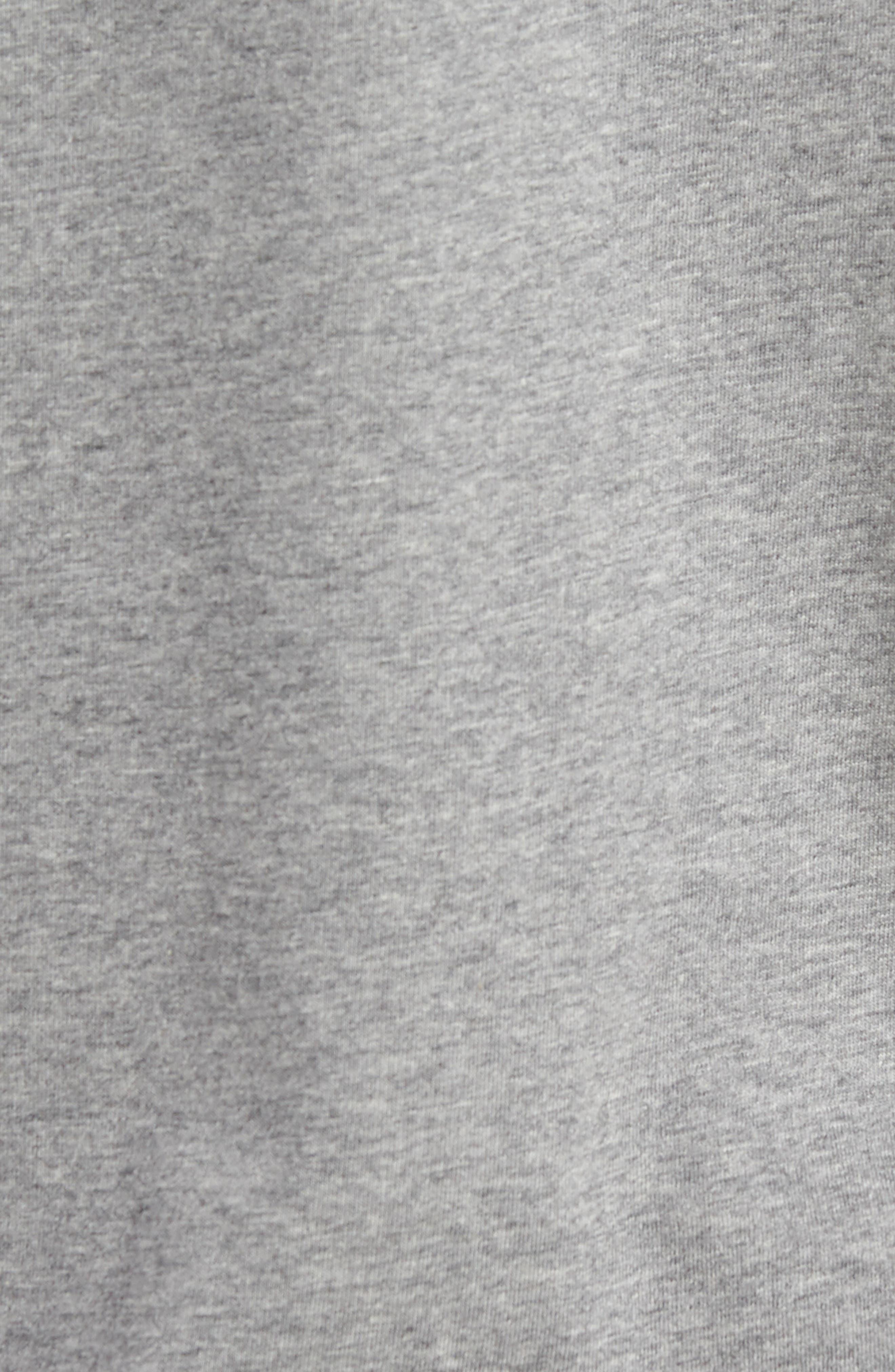 Air Jordan 23 T-Shirt,                             Alternate thumbnail 5, color,                             CARBON HEATHER/ BLACK