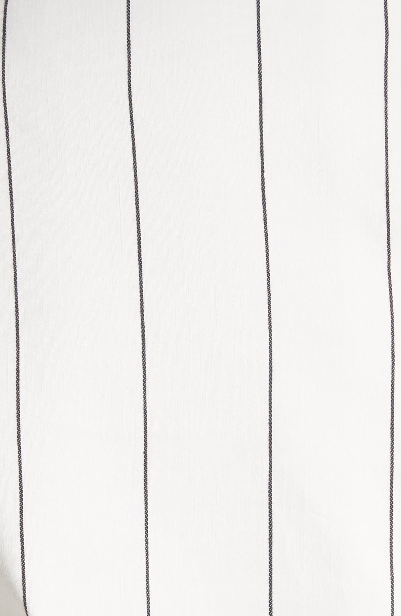 Pinstripe Blazer,                             Alternate thumbnail 6, color,