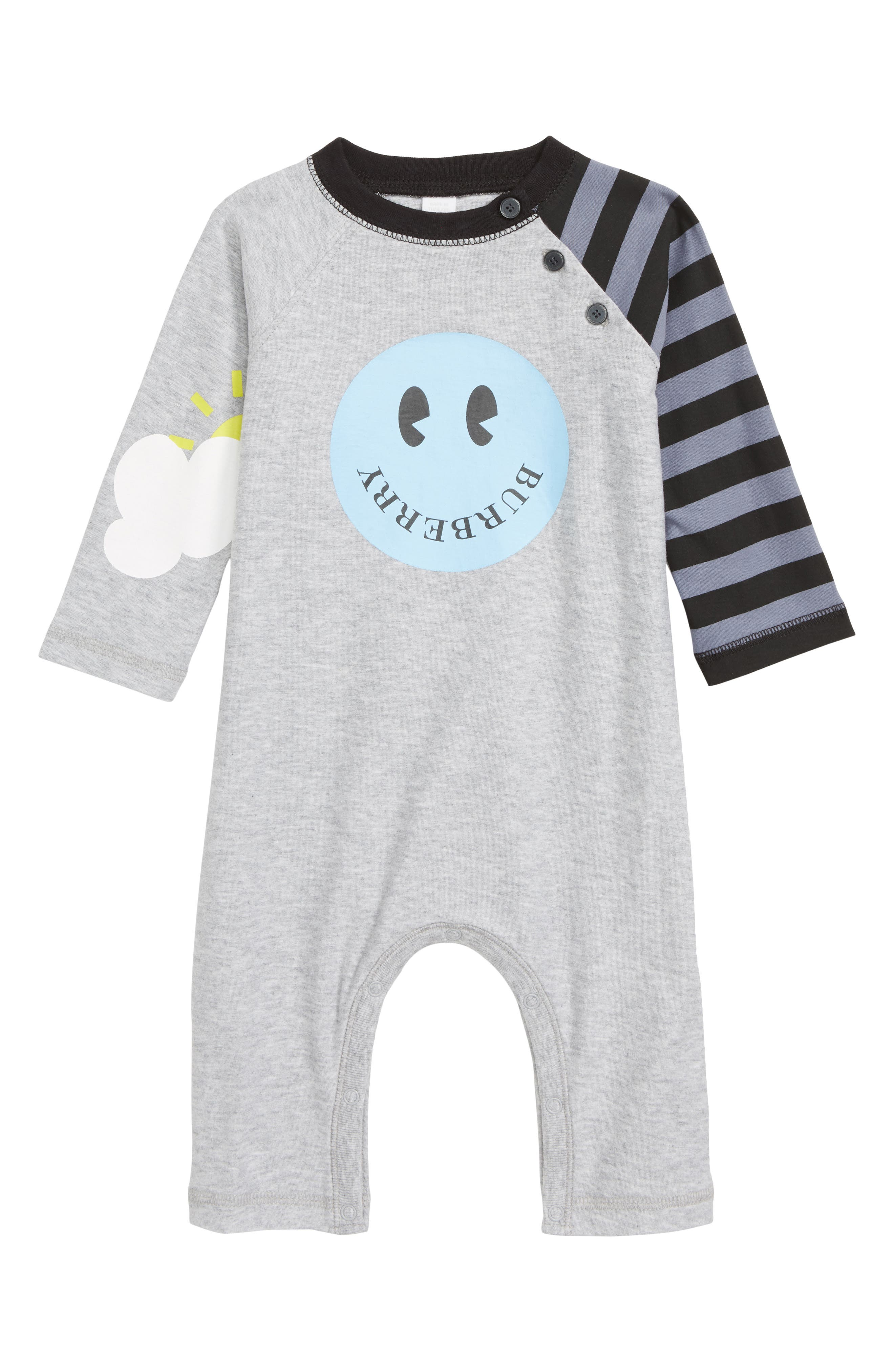 Infant Boys Burberry Smiley Romper
