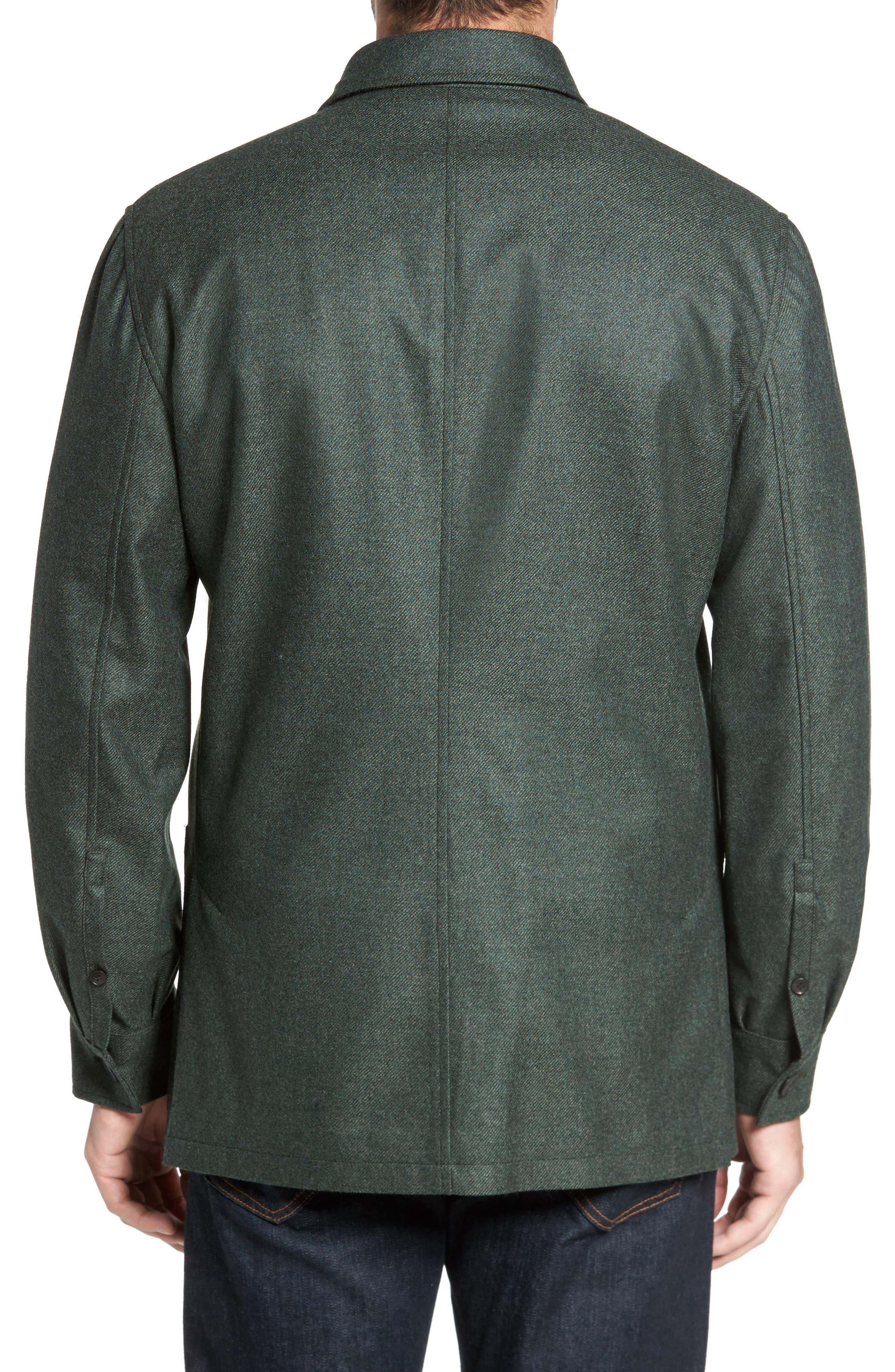 Loro Piana Storm System Shirt Jacket,                             Alternate thumbnail 8, color,