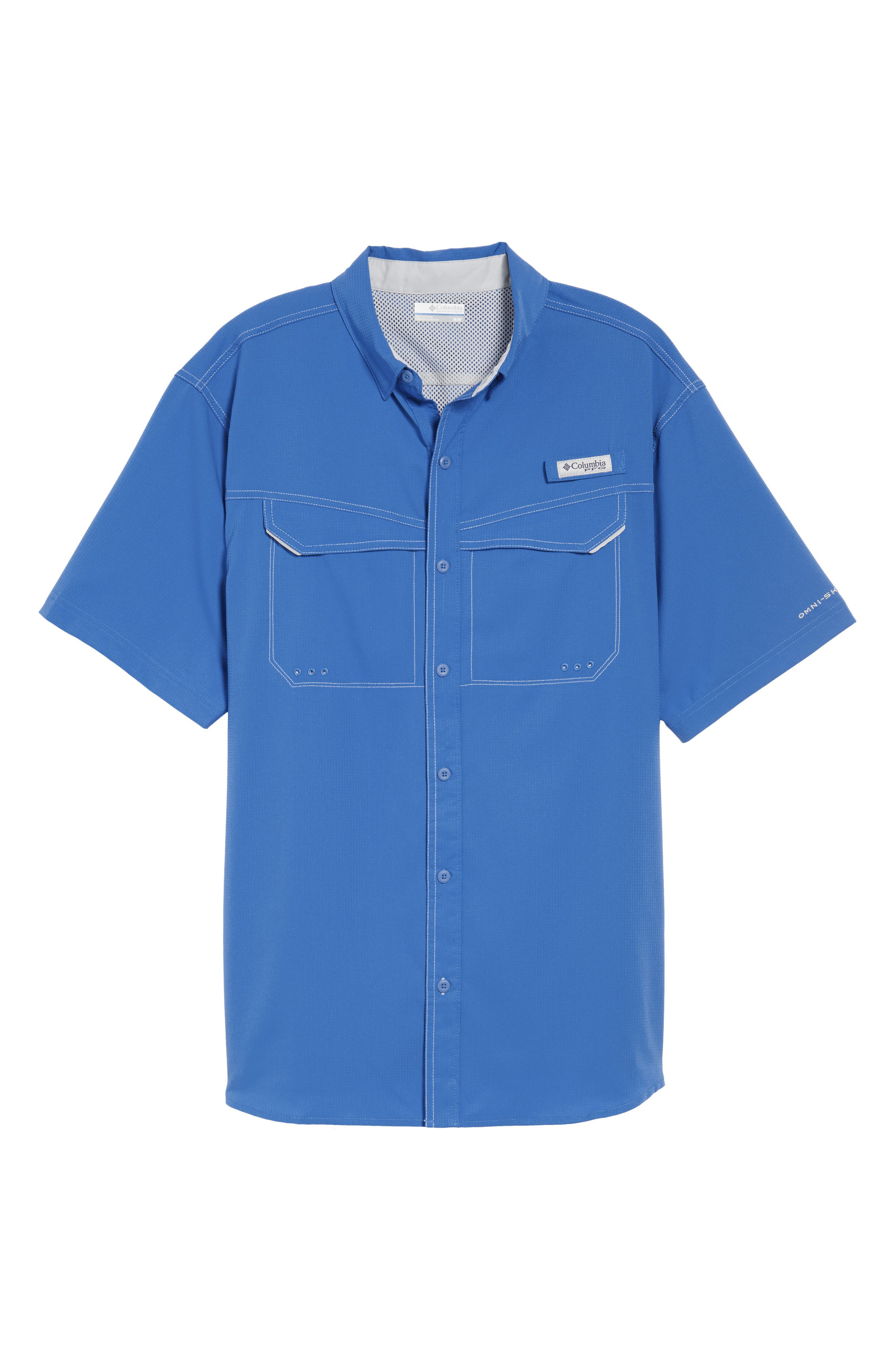 PFG Low Drag Offshore Woven Shirt,                             Alternate thumbnail 28, color,