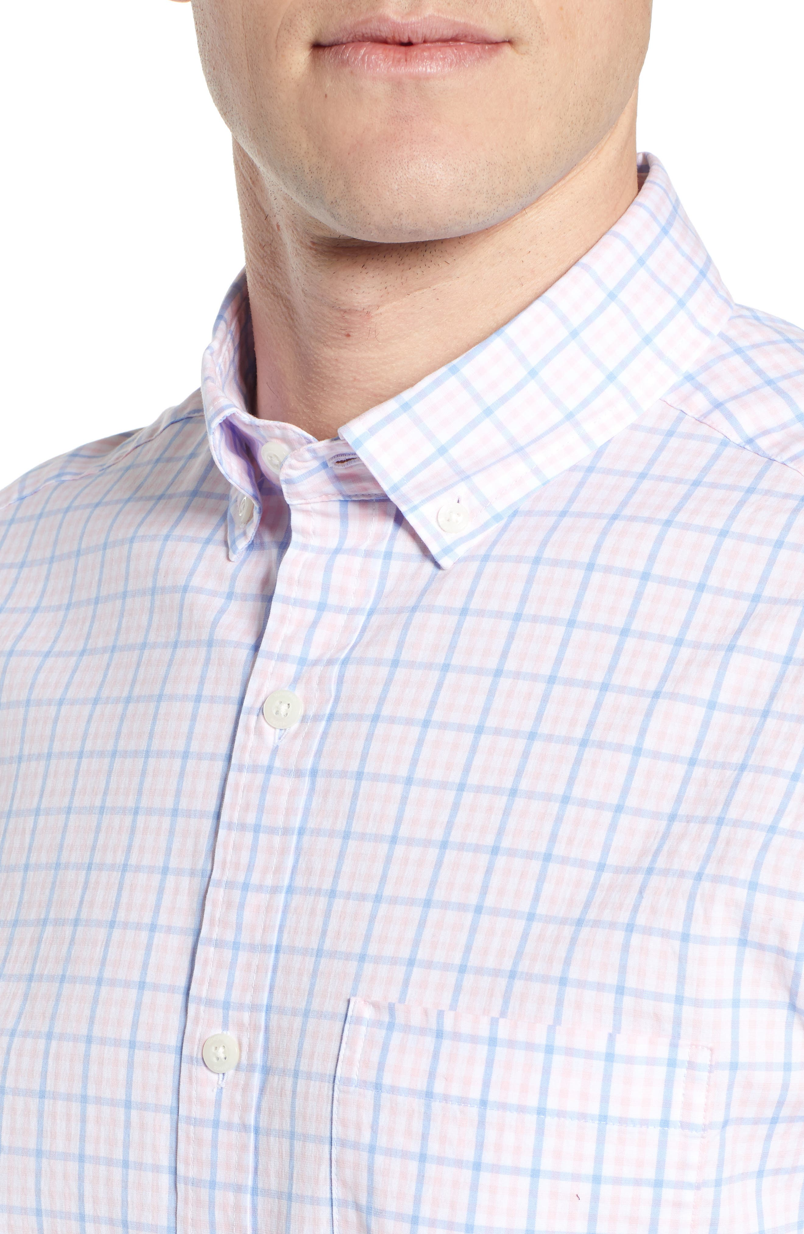 Murray Classic Fit Check Sport Shirt,                             Alternate thumbnail 2, color,                             FLAMINGO