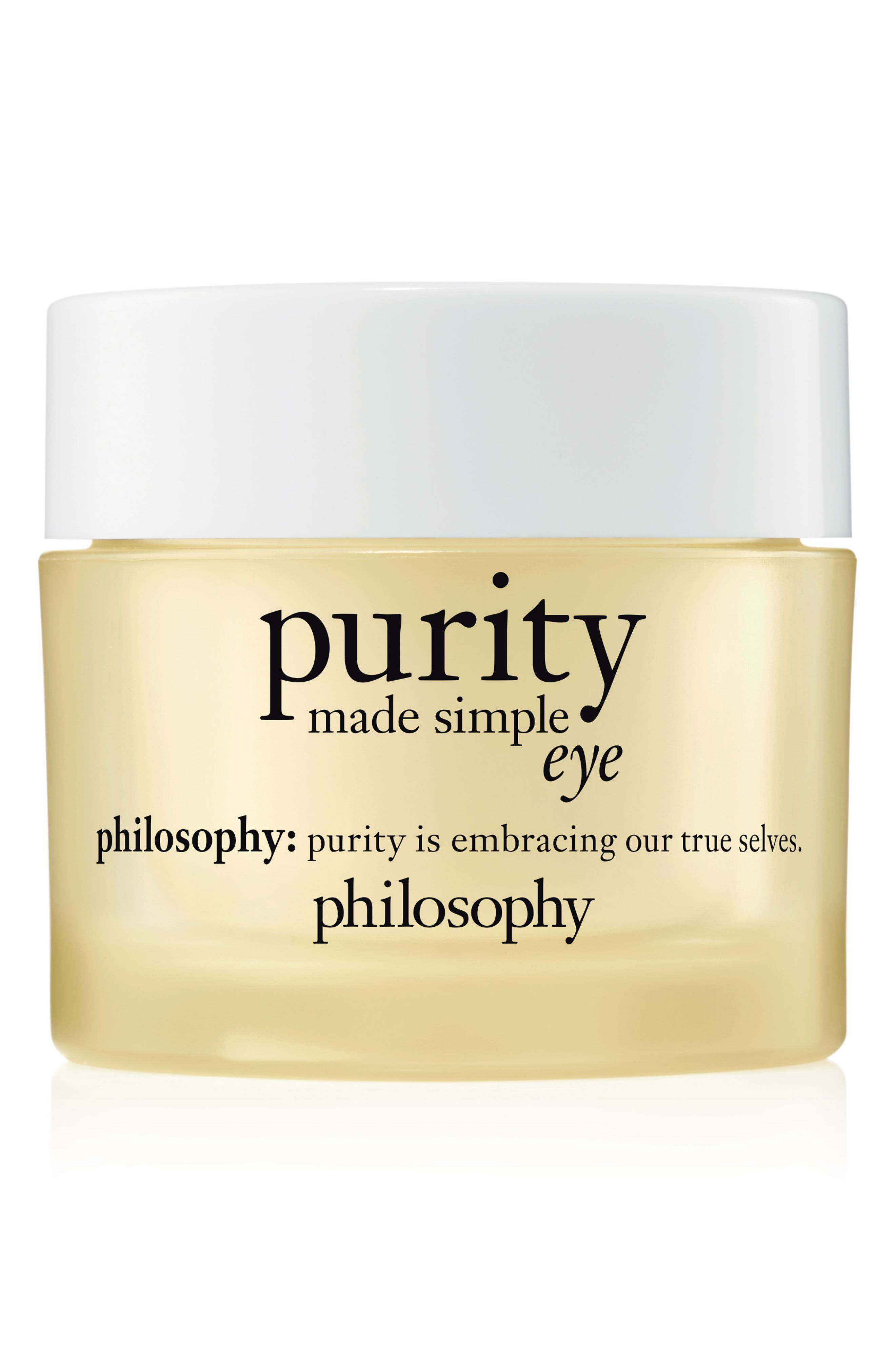 purity made simple hydra-bounce eye gel,                         Main,                         color, NO COLOR