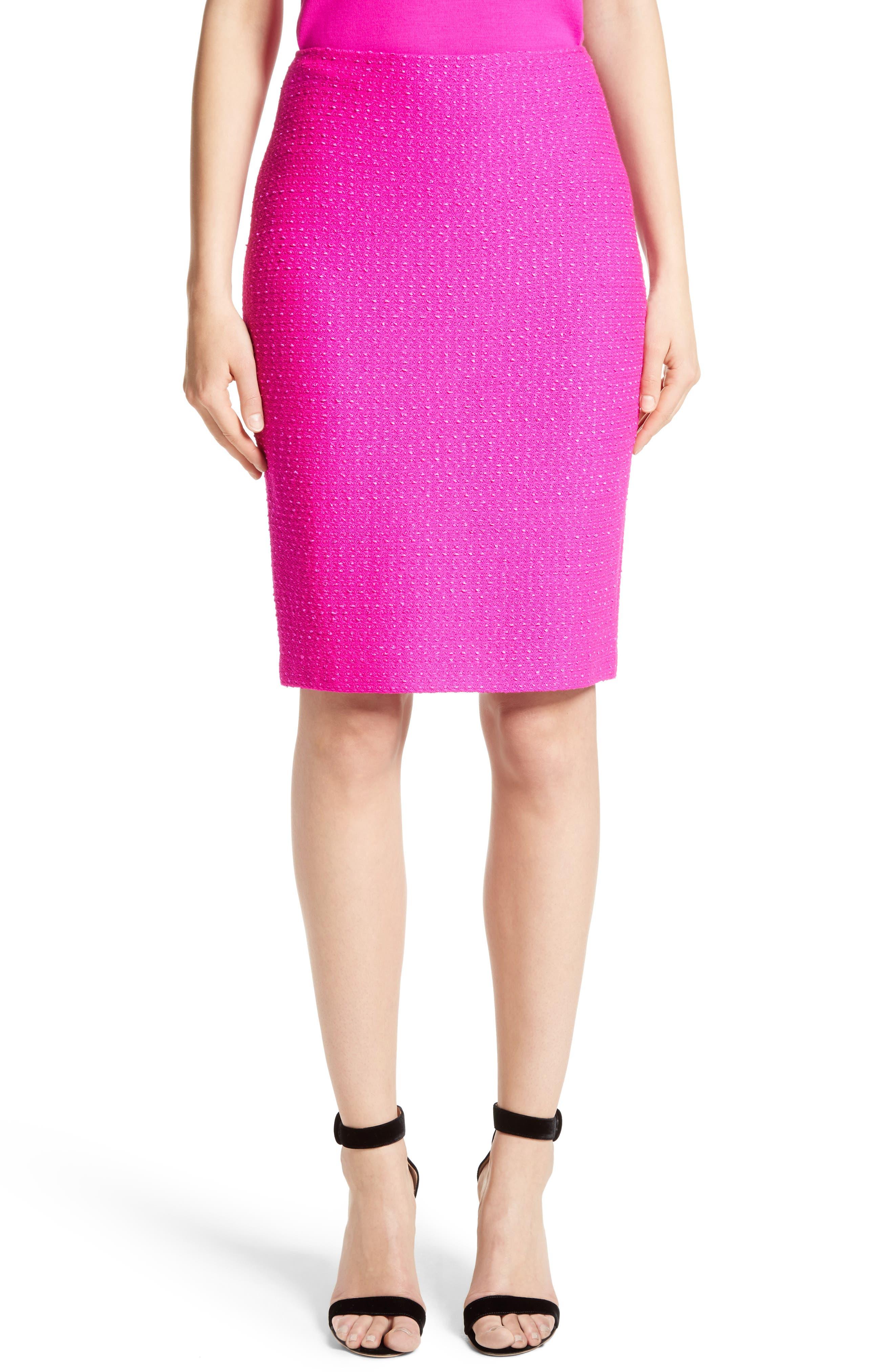 Ribbon Texture Knit Skirt,                             Main thumbnail 1, color,                             670