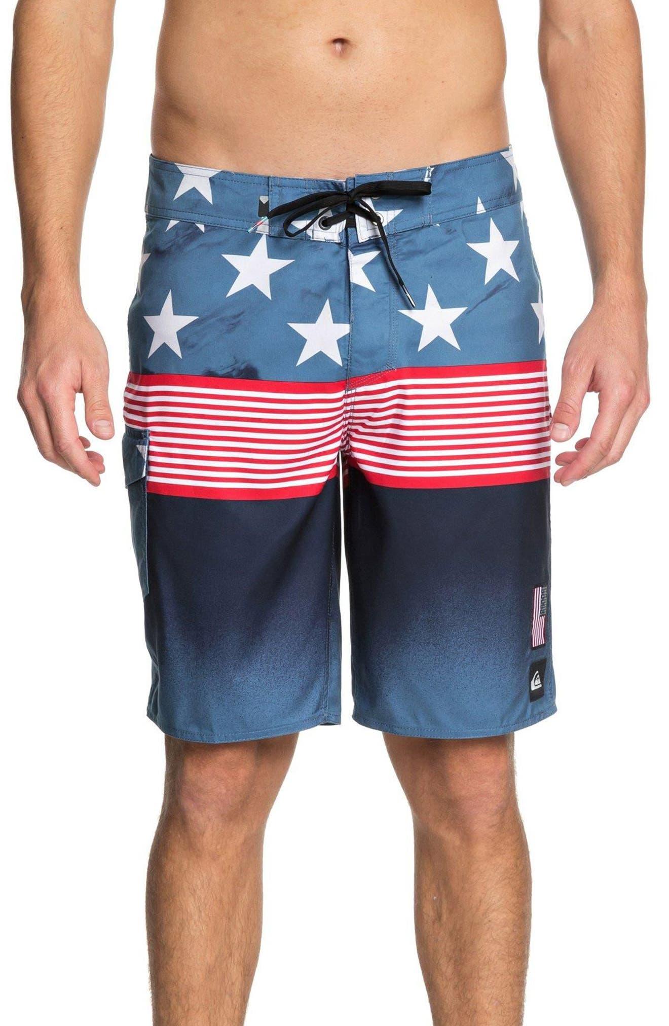 Division Independent Board Shorts,                             Main thumbnail 1, color,                             410