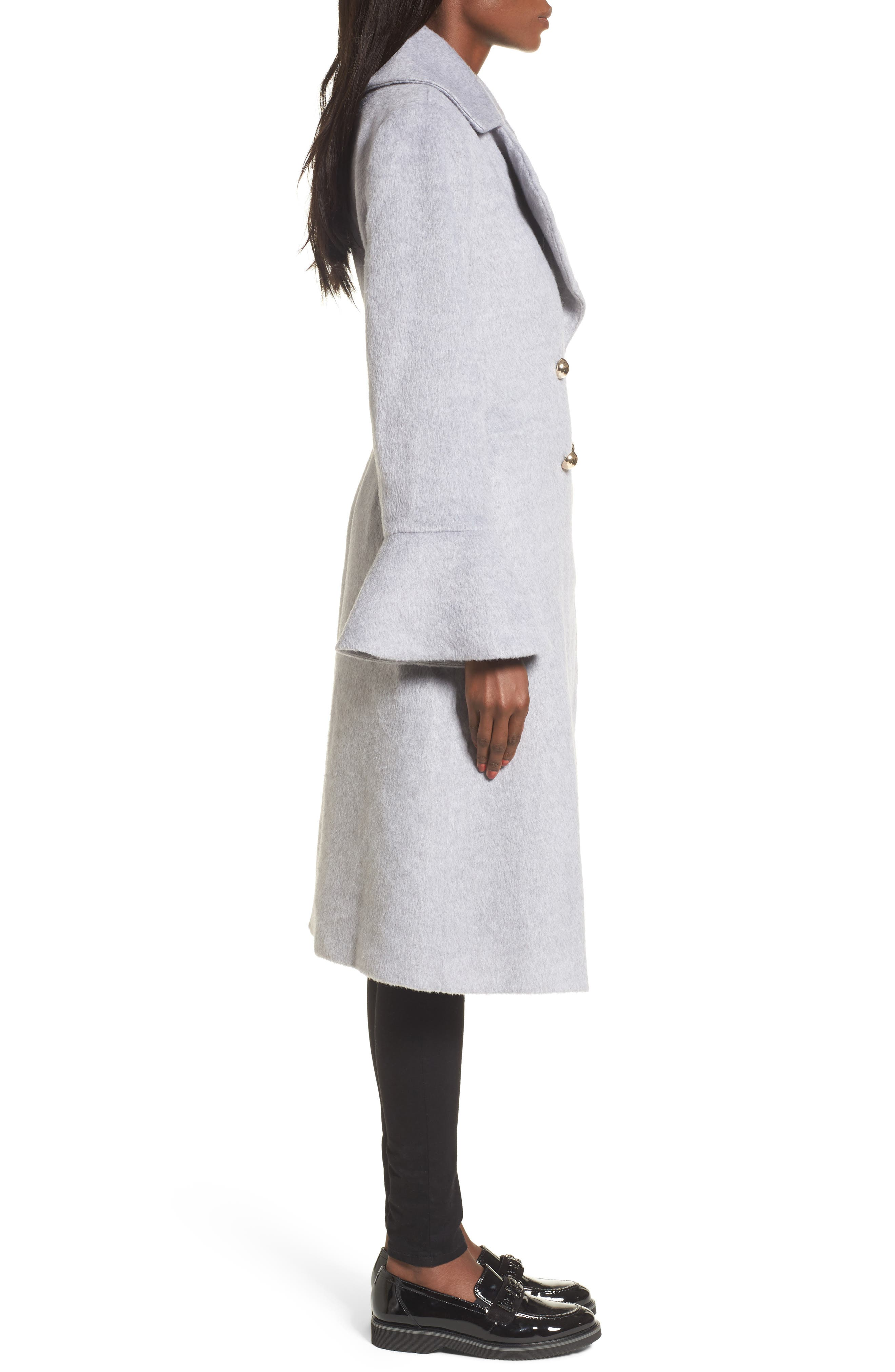 Intuition Water Repellent Coat,                             Alternate thumbnail 3, color,                             020