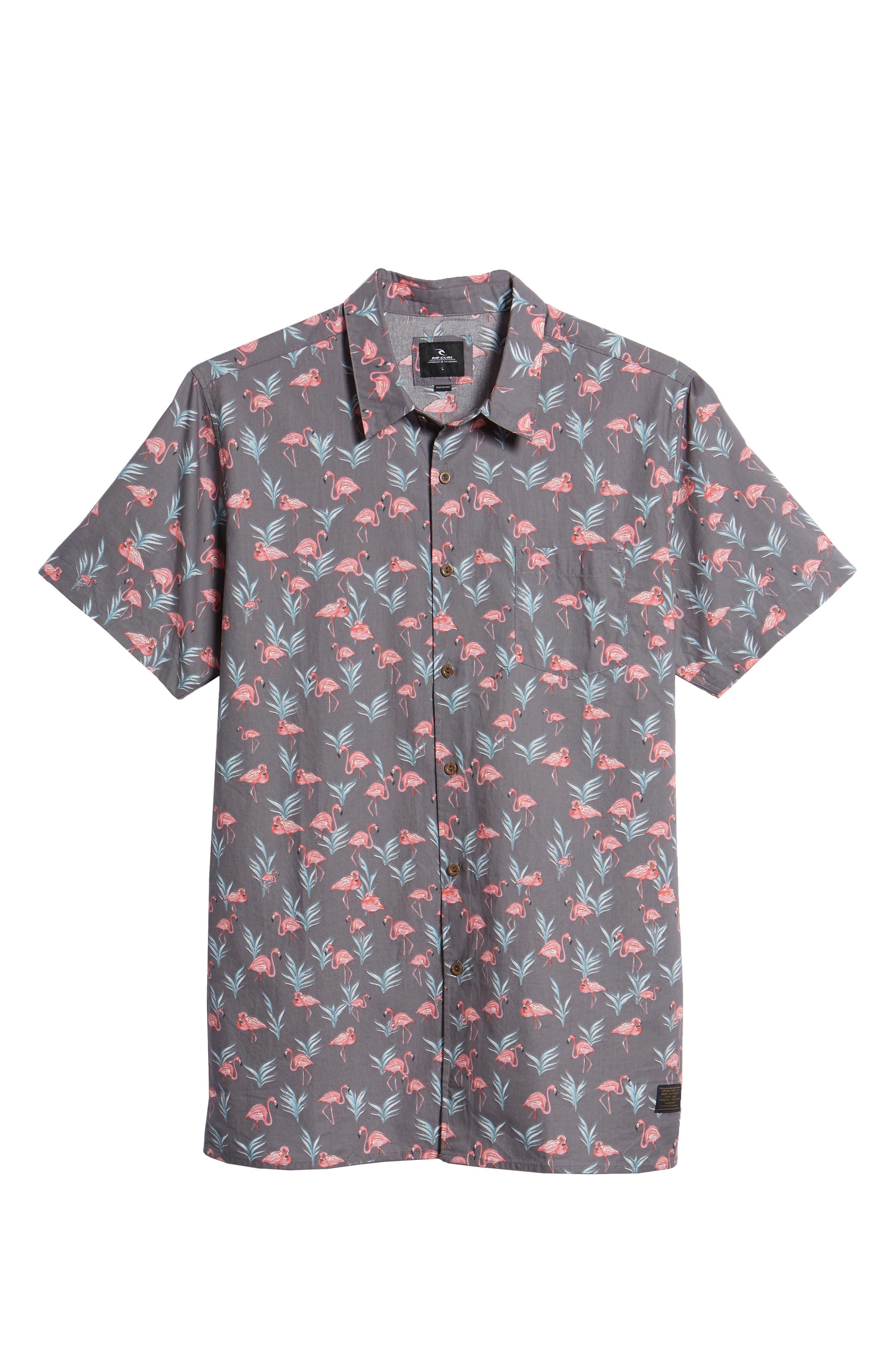 Flaminko Woven Shirt,                             Alternate thumbnail 6, color,                             001