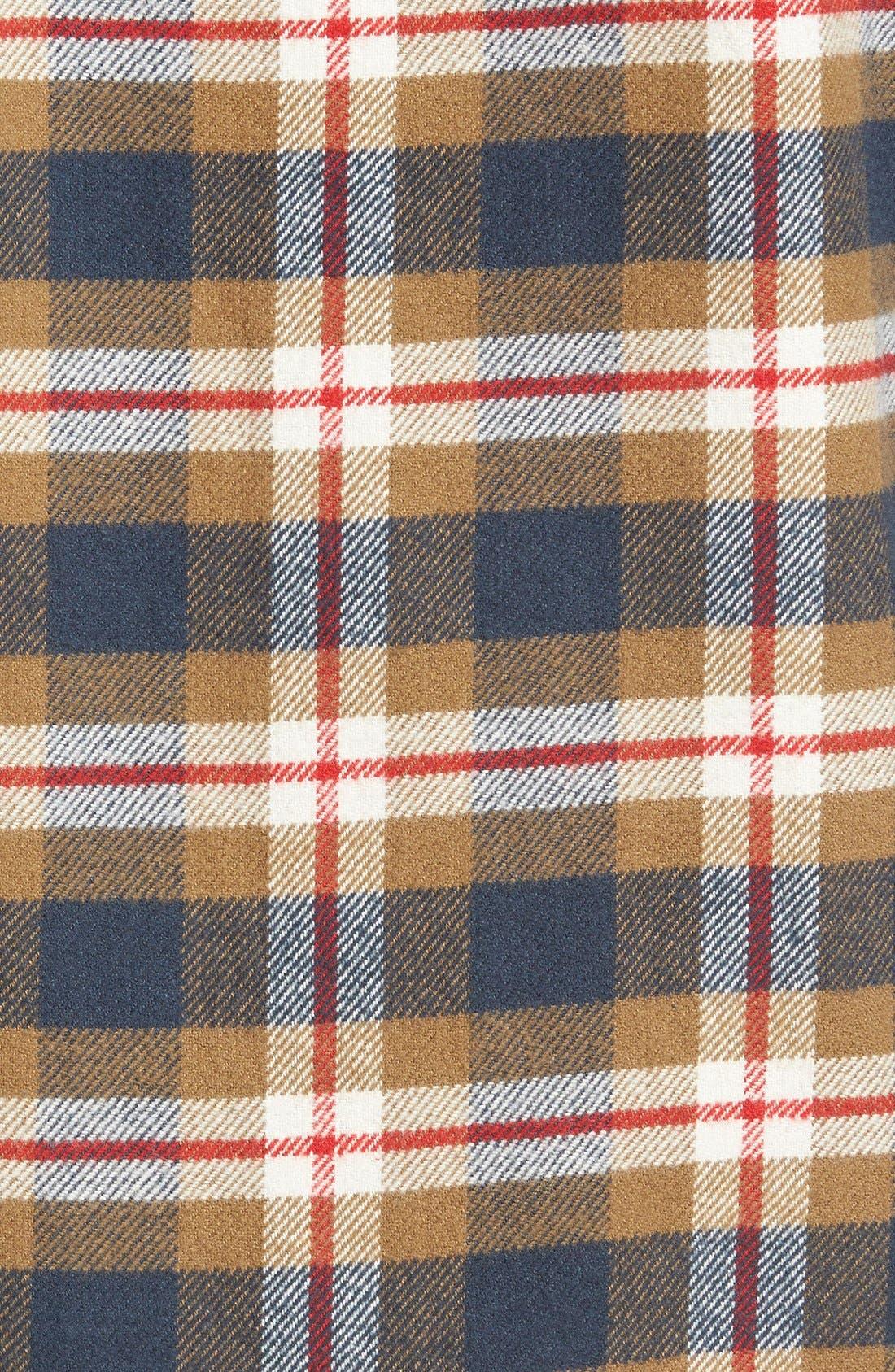 'That'll Work' Trim Fit Plaid Flannel Shirt,                             Alternate thumbnail 22, color,