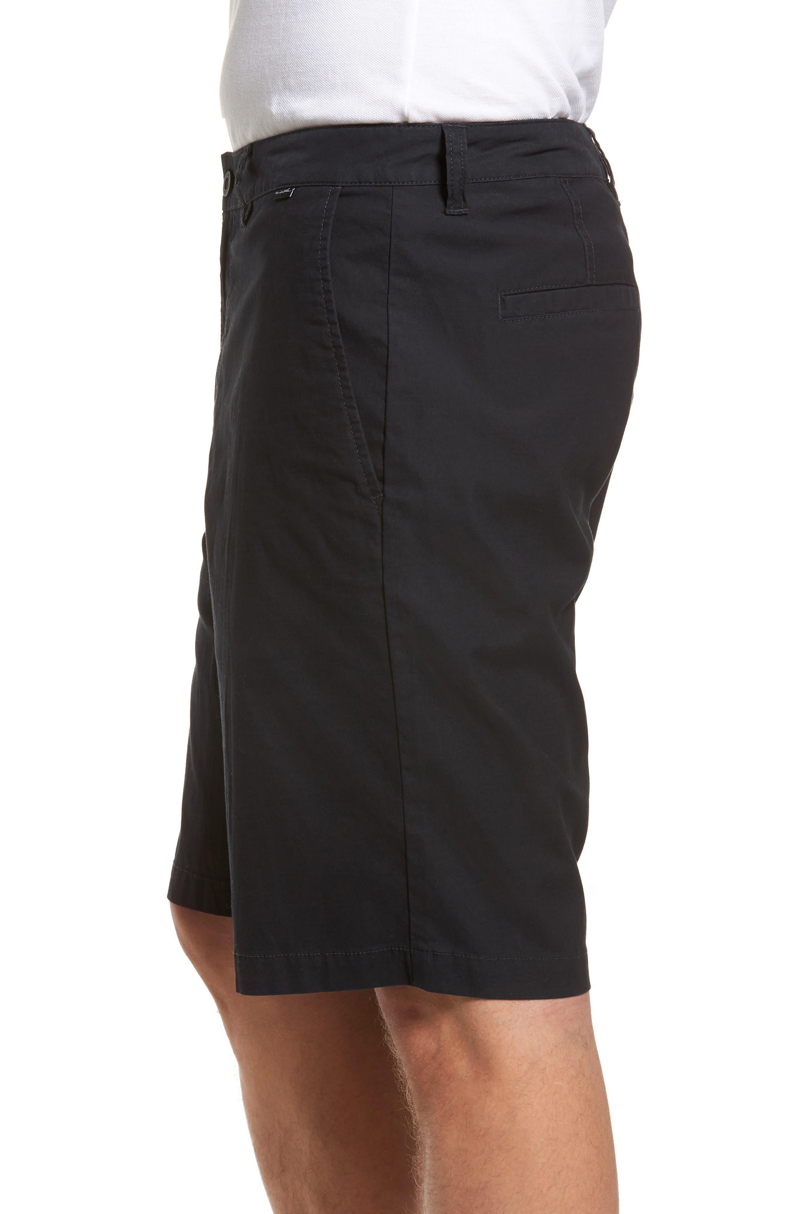 Huntington Shorts,                             Alternate thumbnail 3, color,                             BLACK