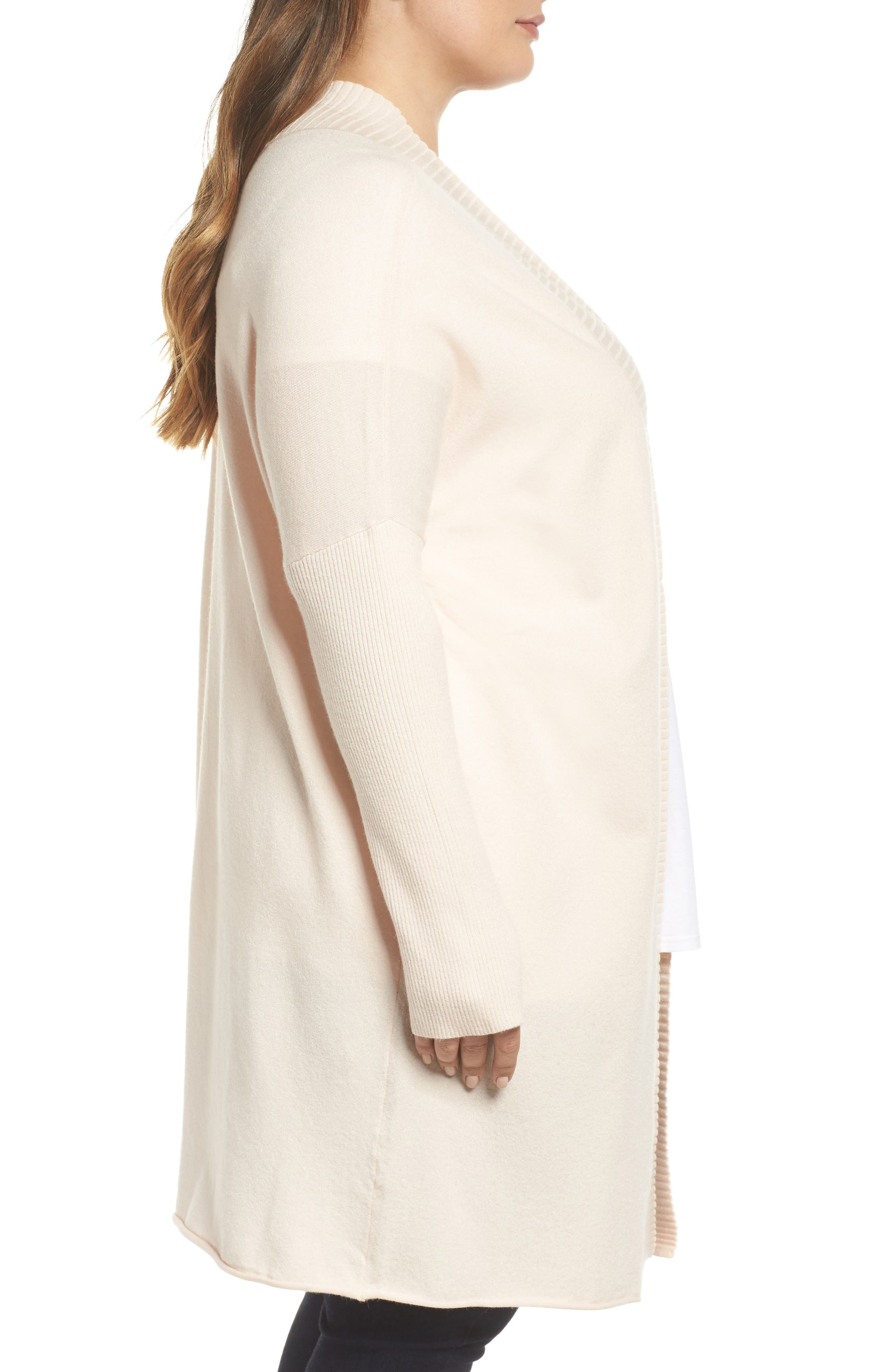 Off-Duty Long Open Front Cardigan,                             Alternate thumbnail 9, color,