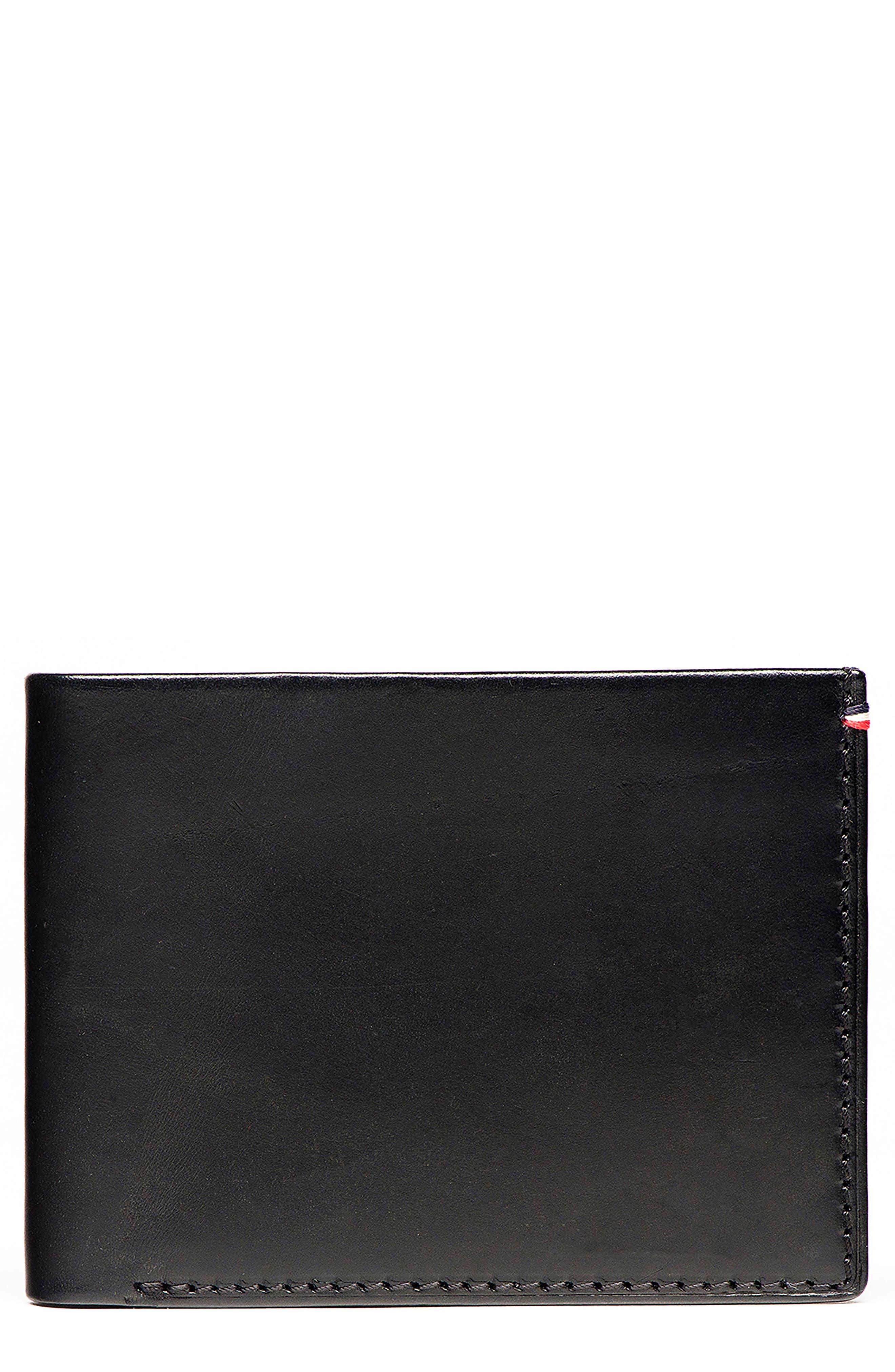 Core Leather Wallet,                         Main,                         color, 001