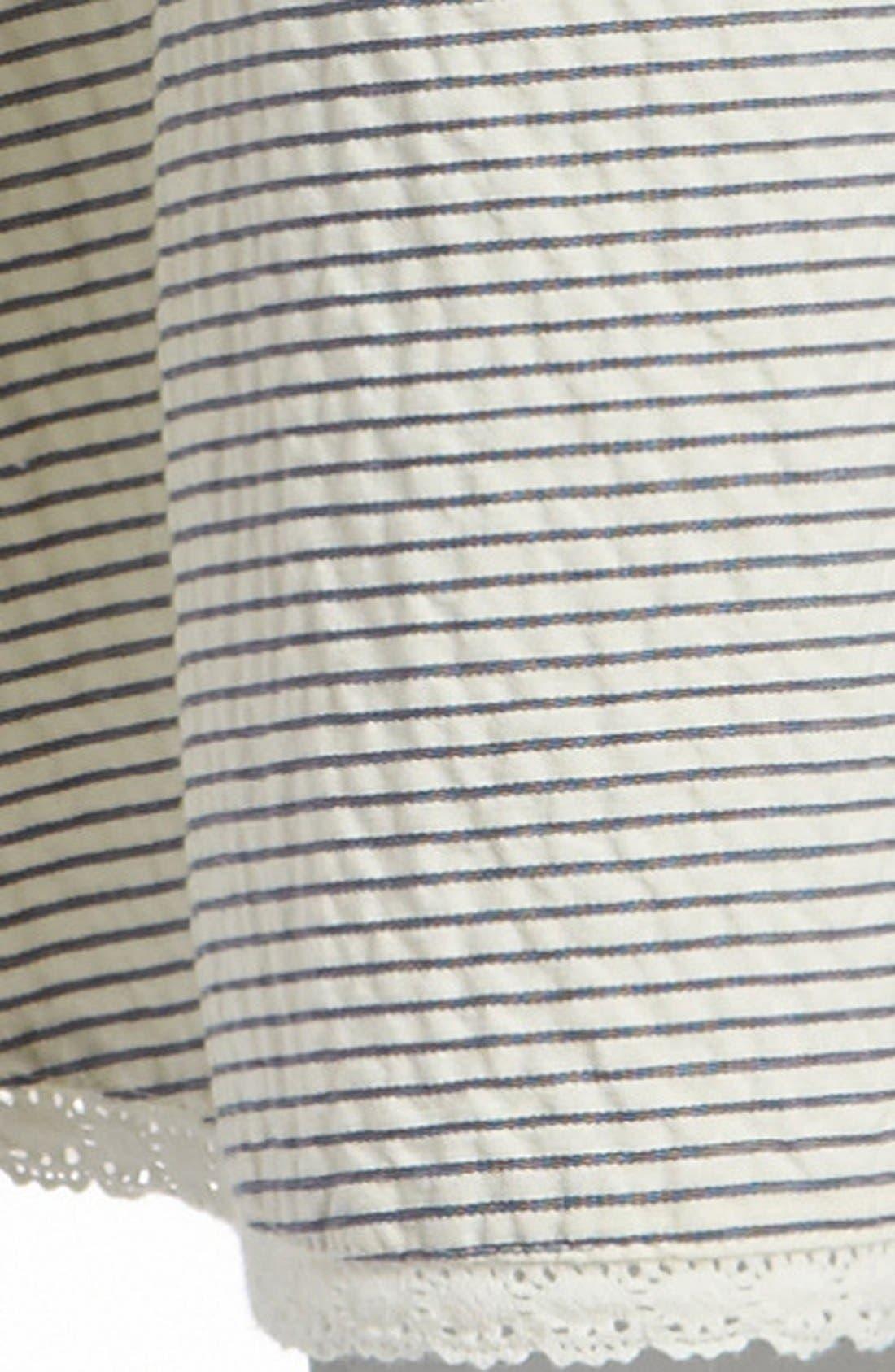 Stripe Wrap Skirt,                             Alternate thumbnail 2, color,                             260