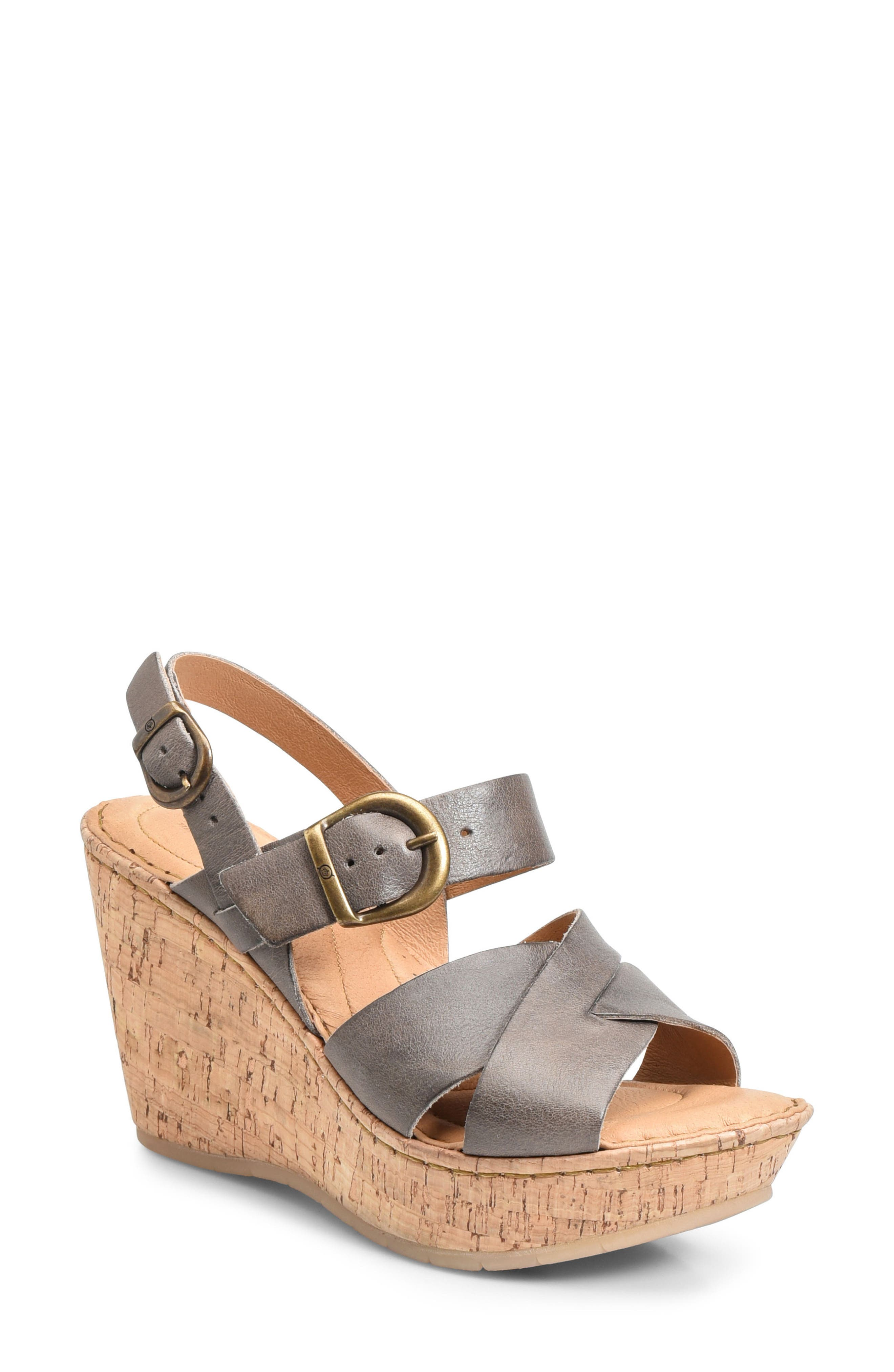 Emmy Platform Wedge,                         Main,                         color, 020