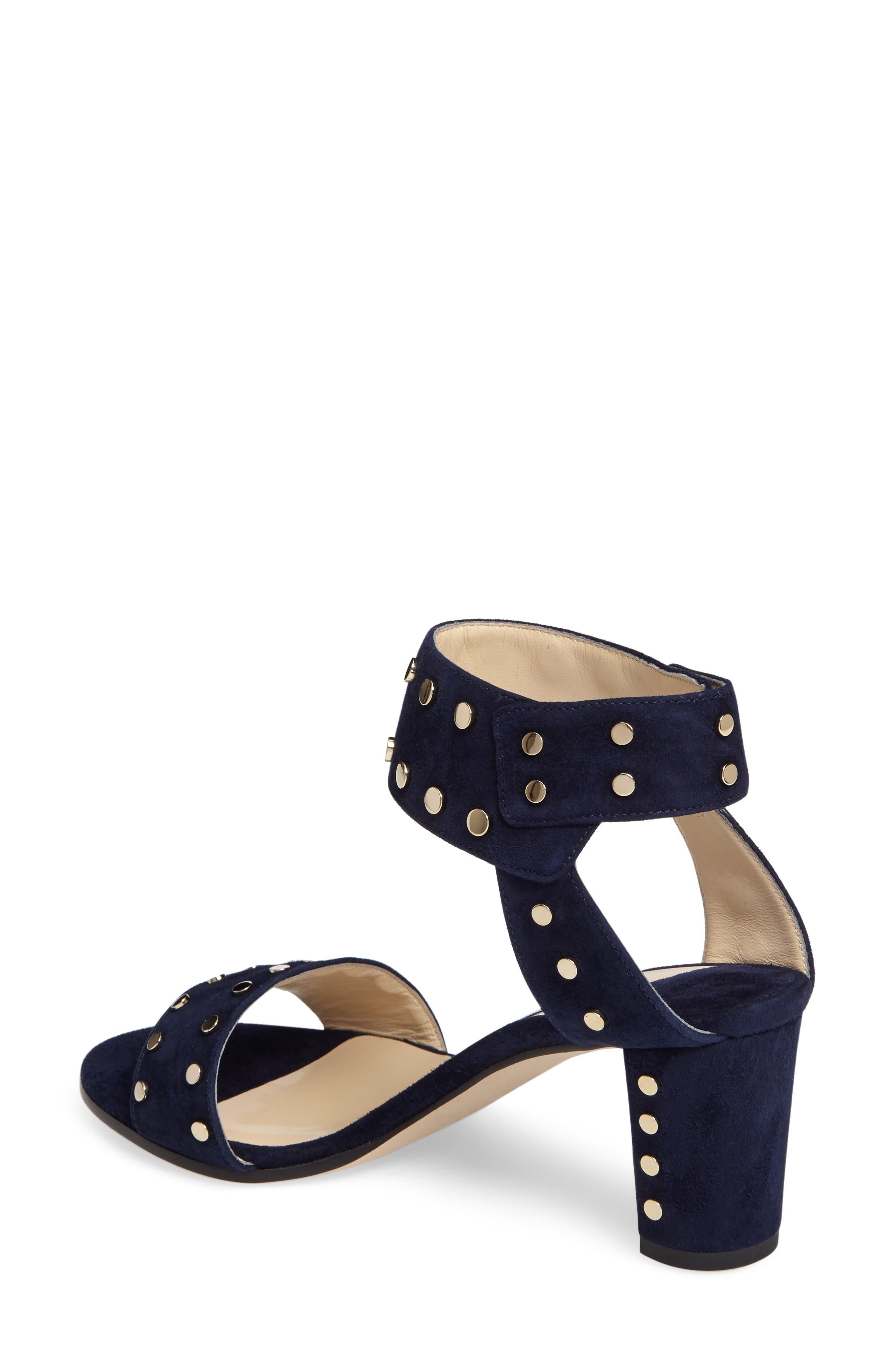 'Veto' Studded Sandal,                             Alternate thumbnail 8, color,