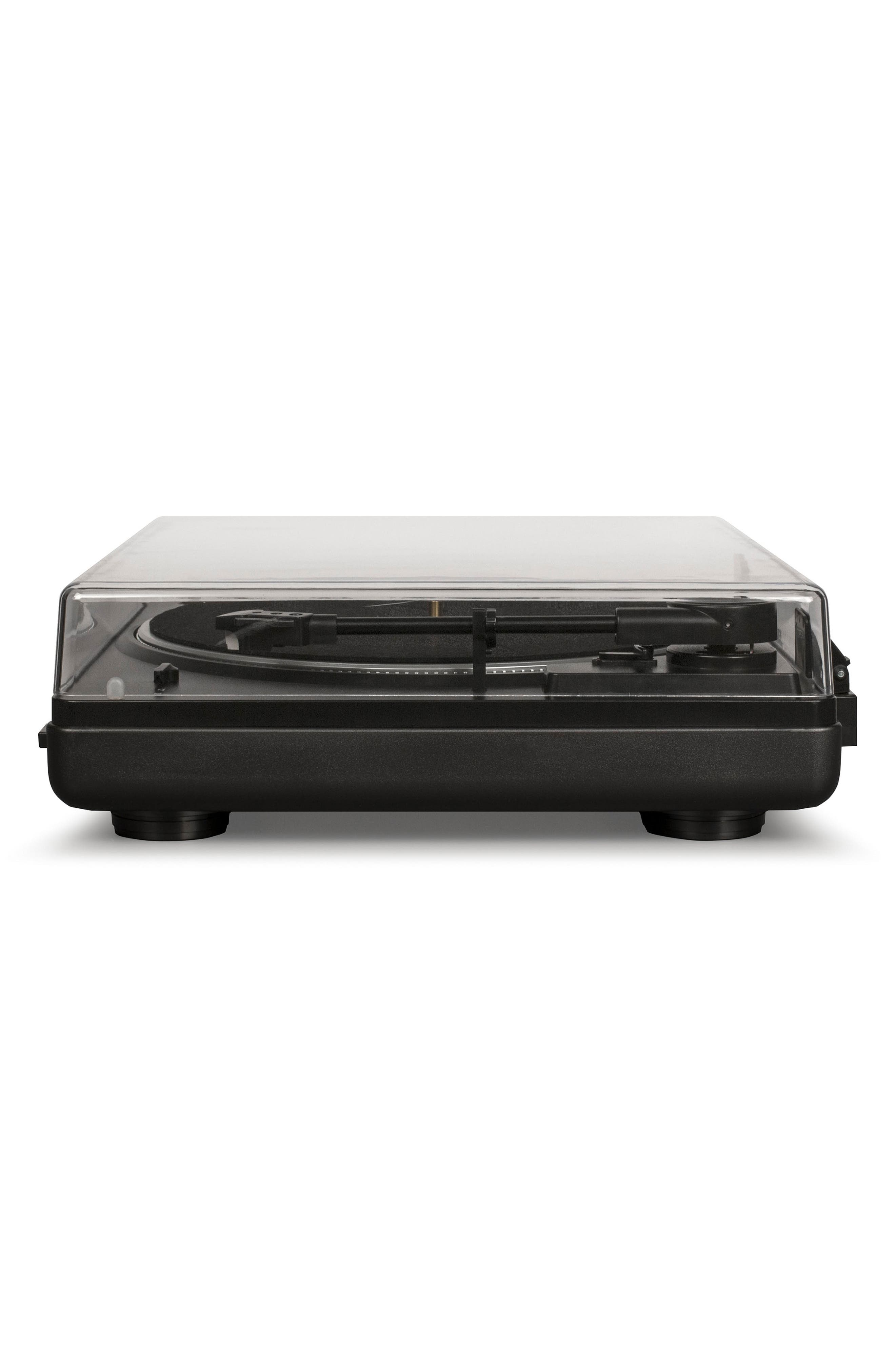 T400 Two-Speed Automatic Turntable,                             Alternate thumbnail 3, color,                             BLACK