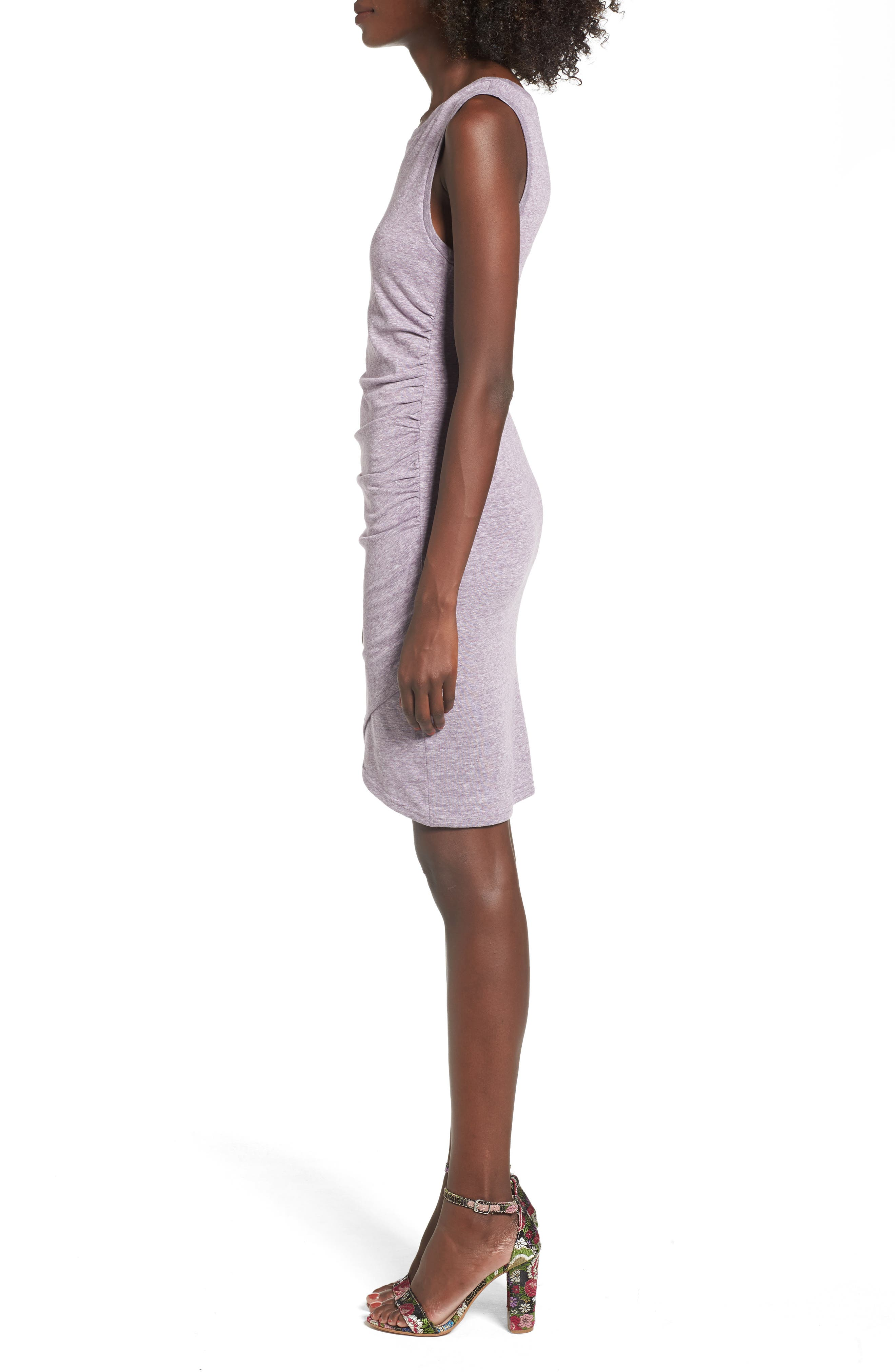 Ruched Body-Con Tank Dress,                             Alternate thumbnail 79, color,
