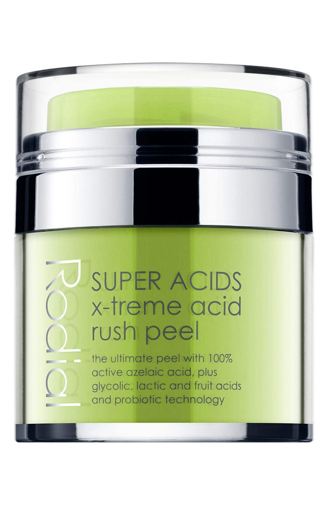 SPACE.NK.apothecary Rodial SUPER ACIDS X-Treme Acid Rush Peel,                             Main thumbnail 1, color,                             000