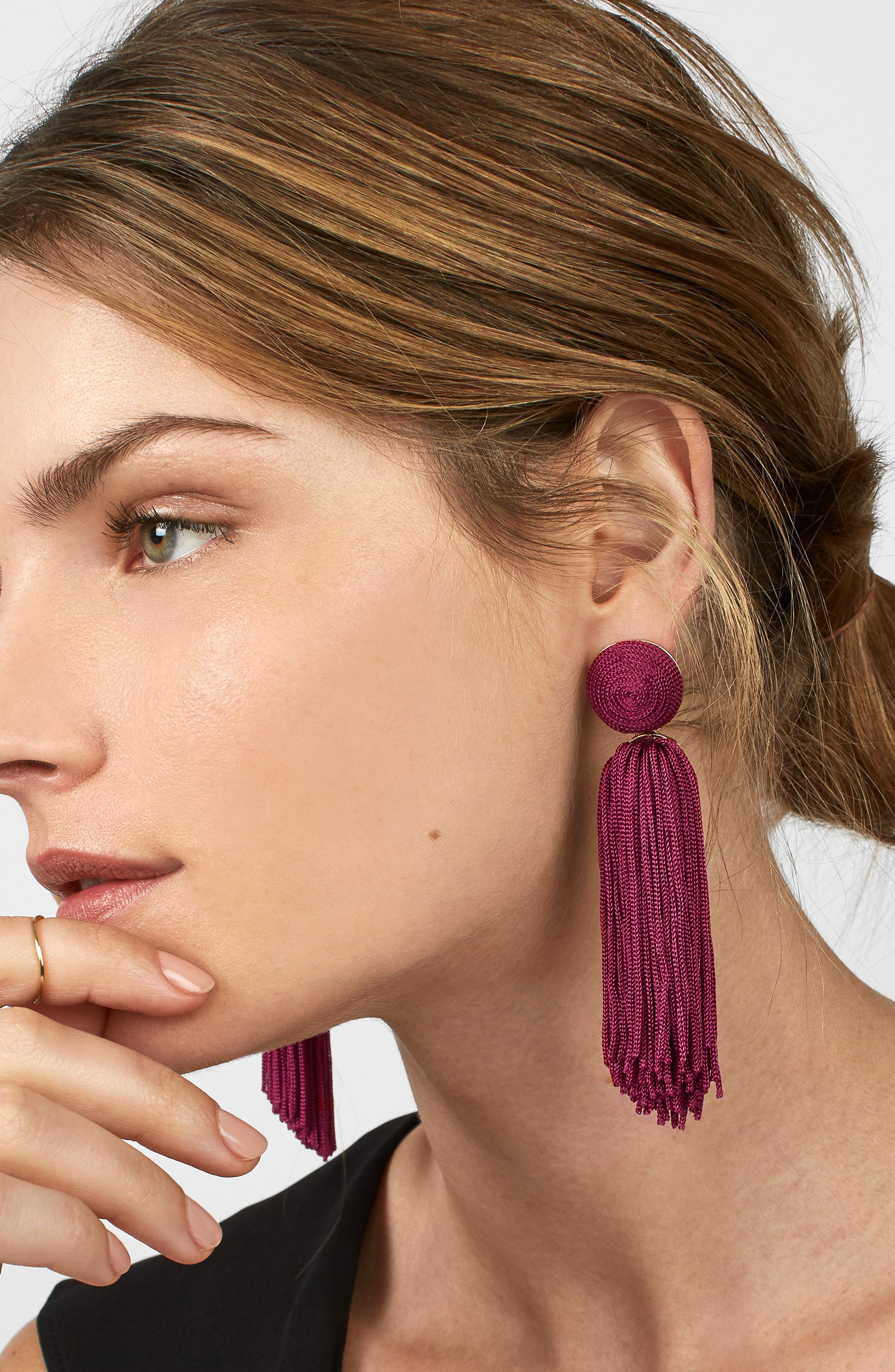 Sonatina Tassel Earrings,                             Alternate thumbnail 18, color,