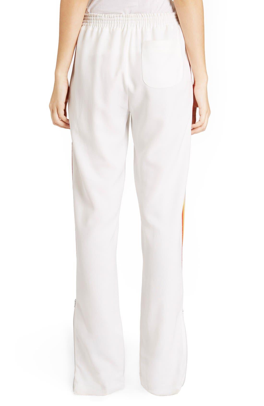 Rainbow Stripe Track Pants,                             Alternate thumbnail 12, color,