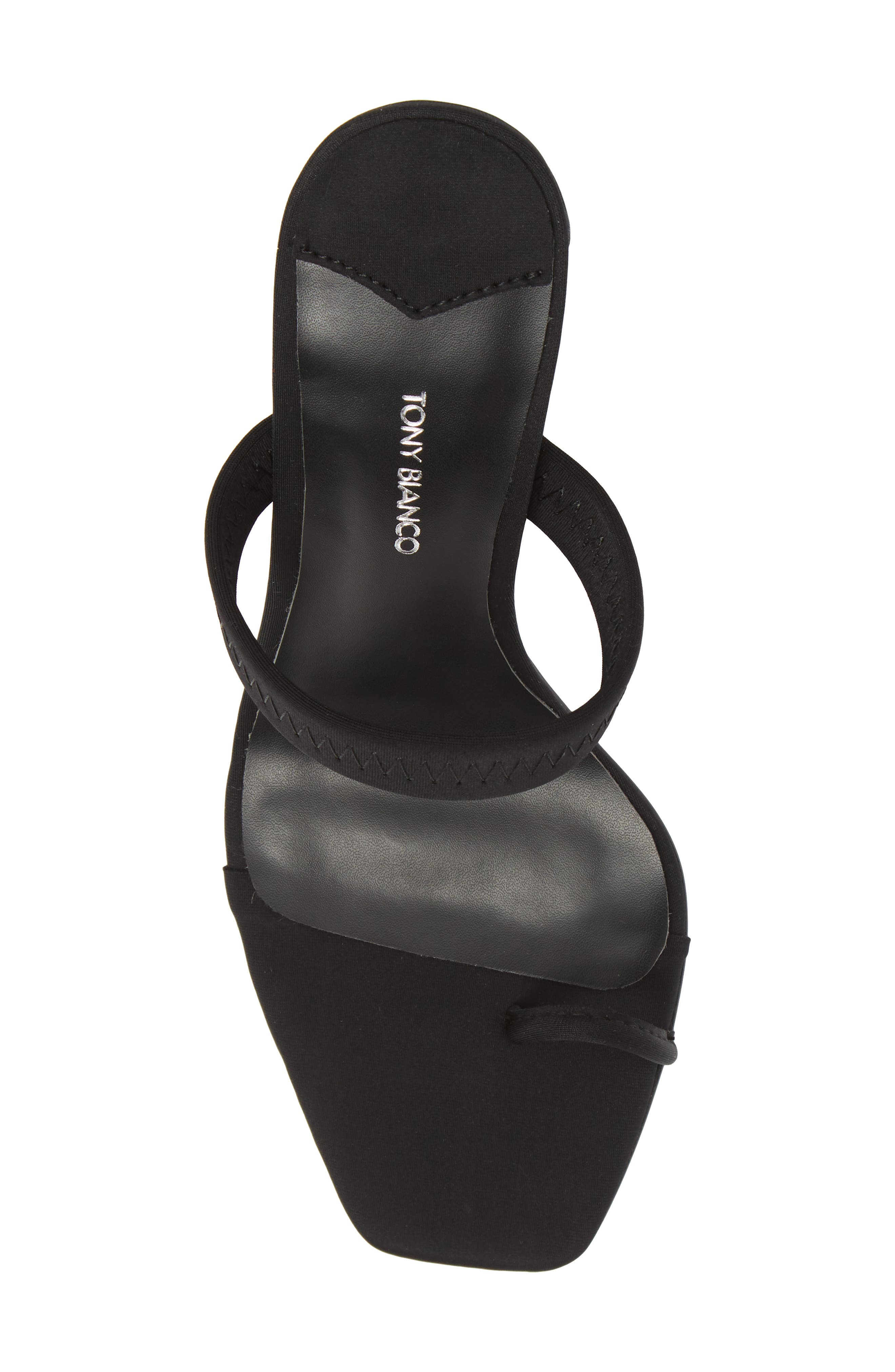 Sierra Sandal,                             Alternate thumbnail 5, color,                             BLACK FABRIC