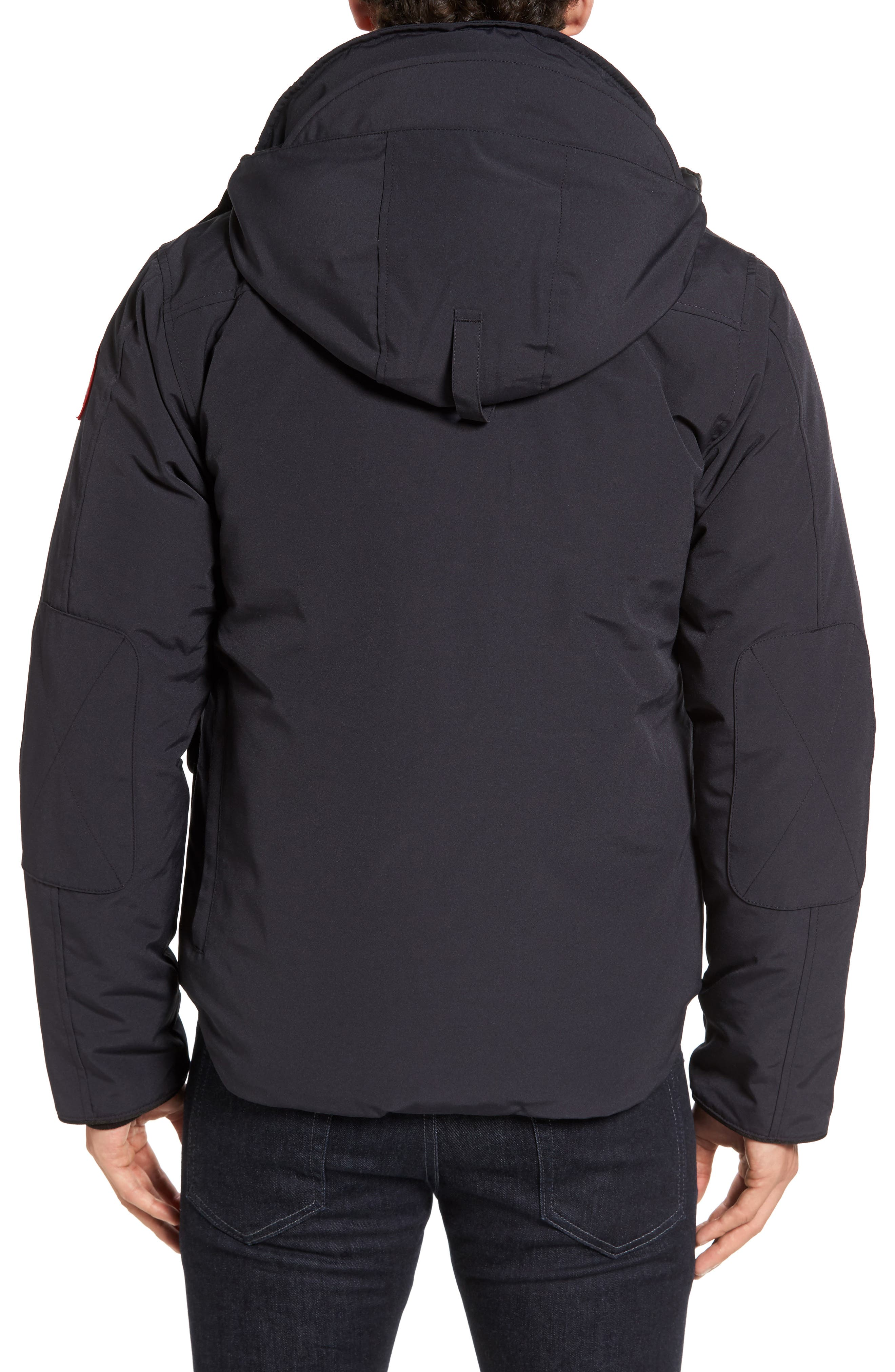 'Selkirk' Slim Fit Water Resistant Down Parka with Detachable Hood,                             Alternate thumbnail 7, color,