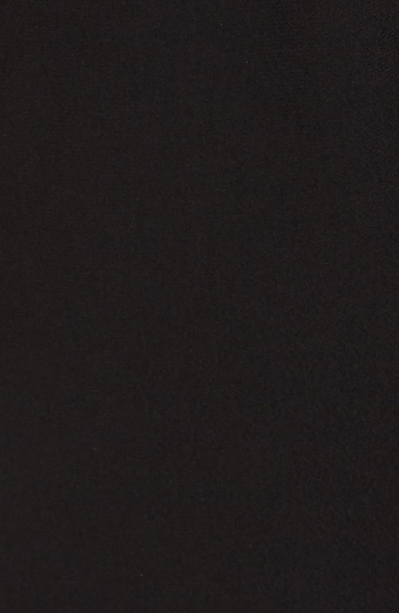Cascading Sequin Tie Jumpsuit,                             Alternate thumbnail 6, color,                             BLACK