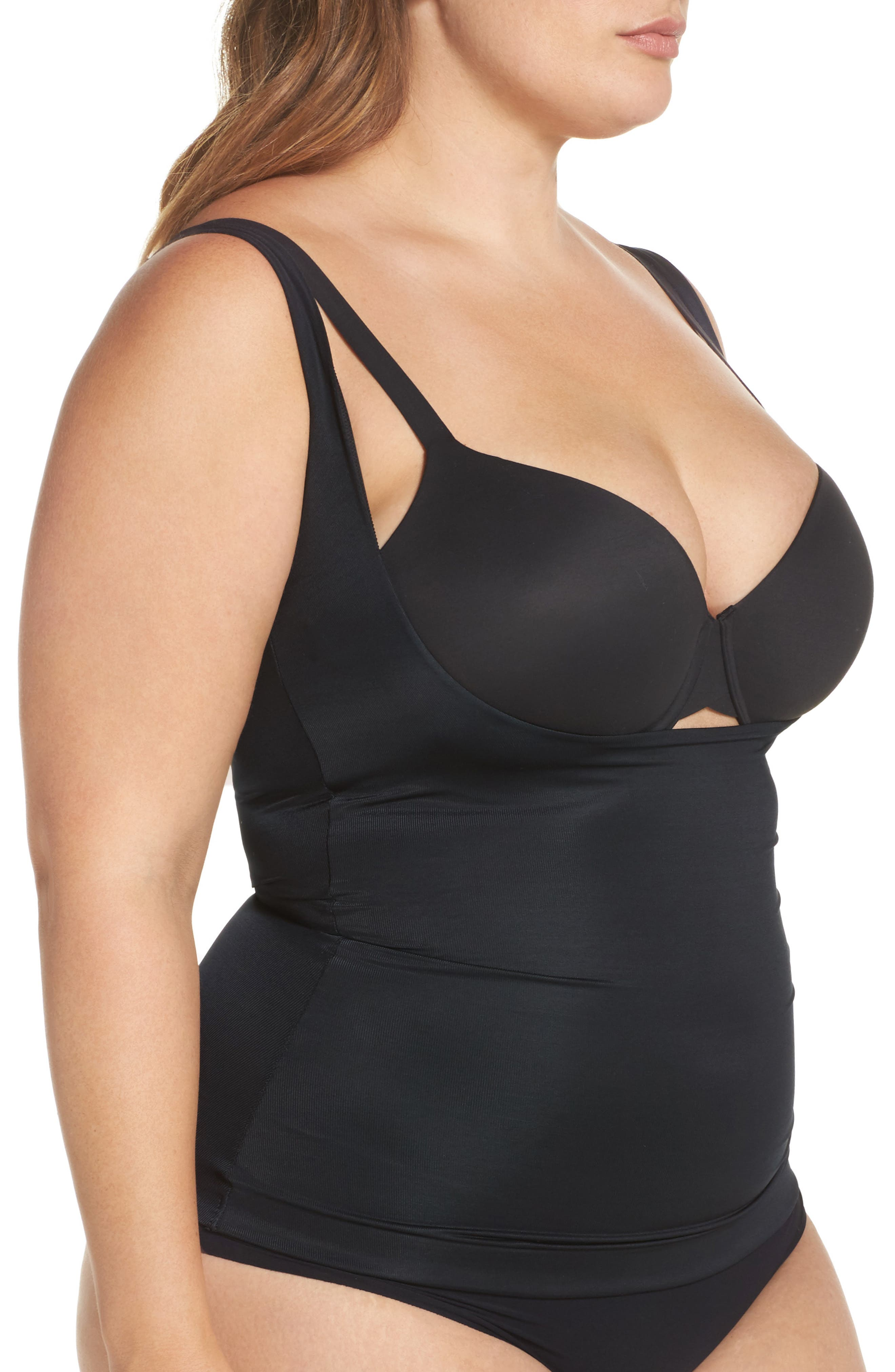 Power Conceal-Her Open Bust Camisole,                             Alternate thumbnail 5, color,