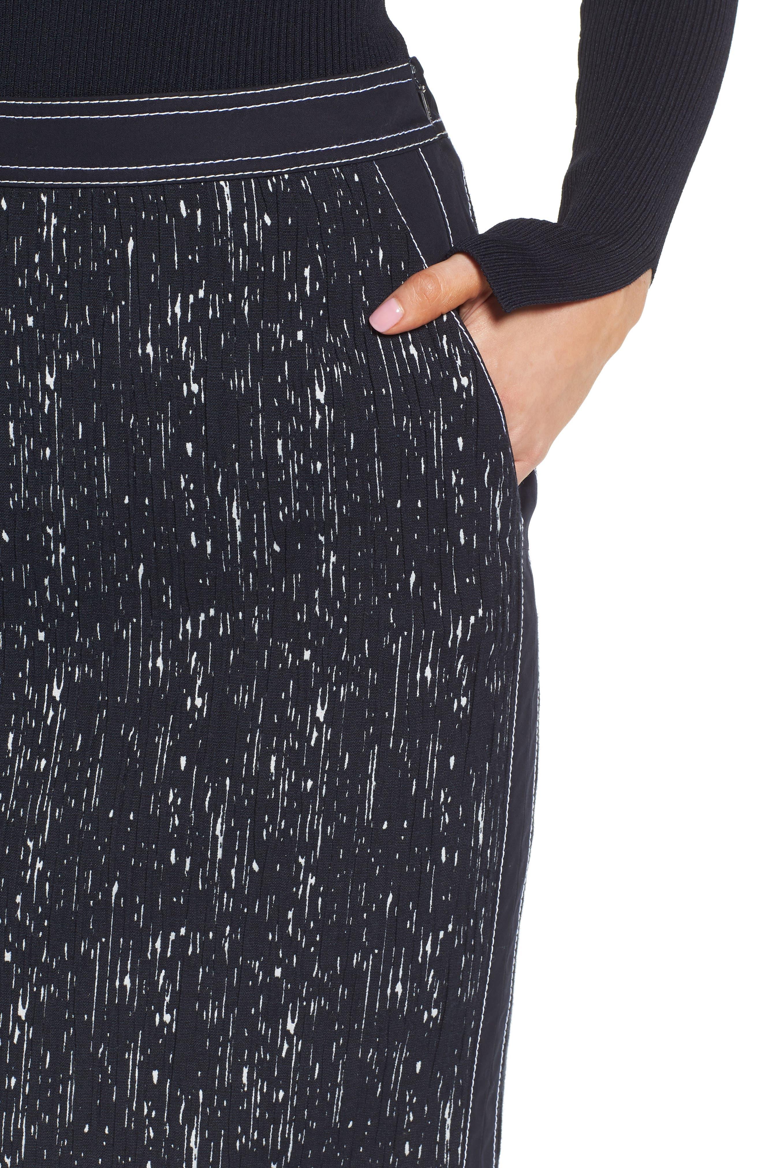 Veleara Pencil Skirt,                             Alternate thumbnail 4, color,