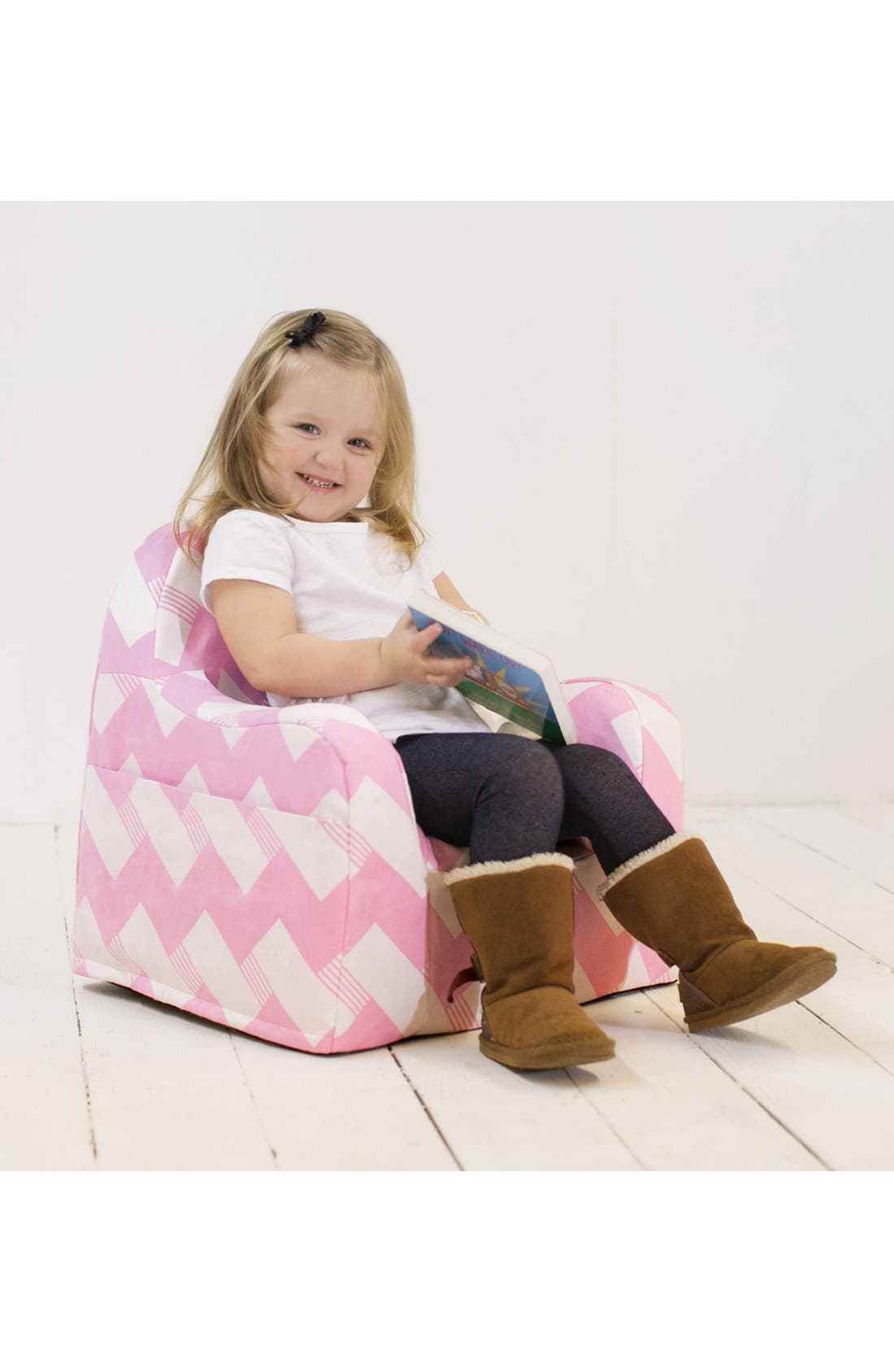 'Personalized Little Reader' Chair,                             Alternate thumbnail 6, color,